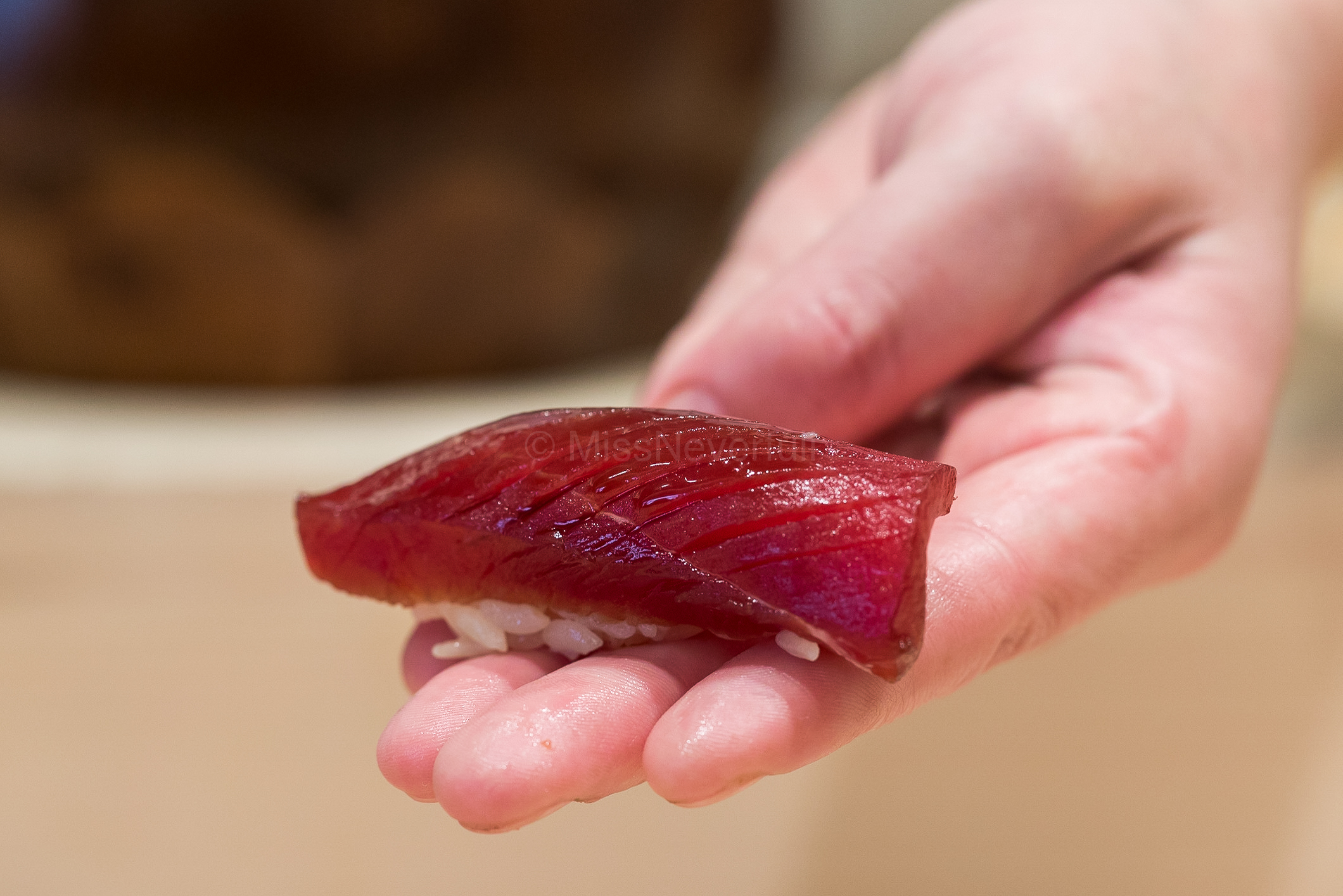 4. Akami (aged for a week)