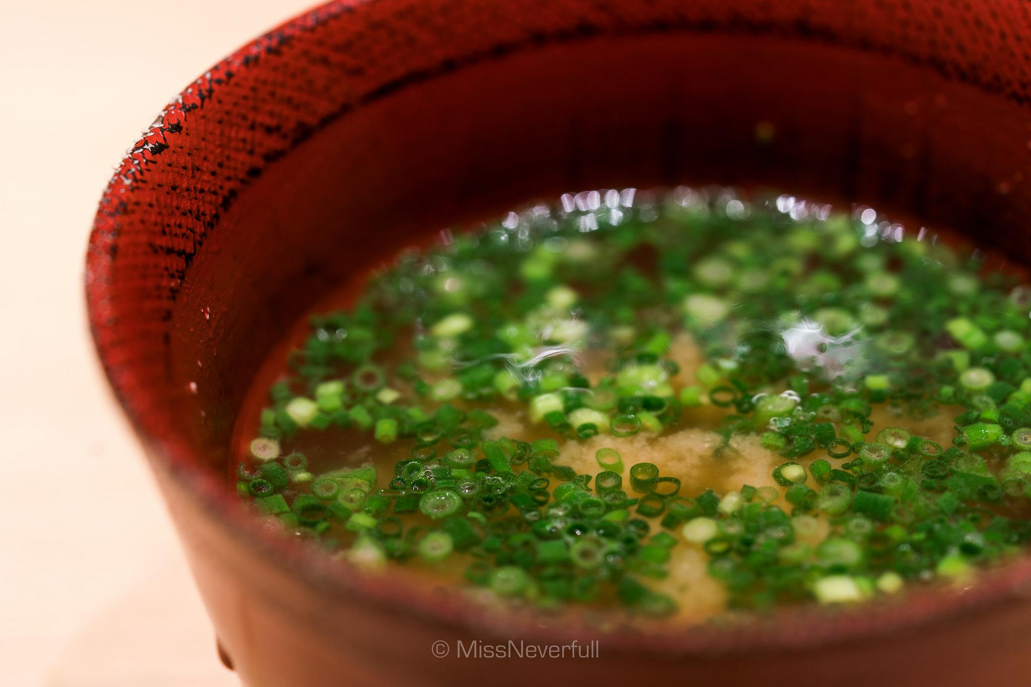 お椀 / Miso soup with scallions