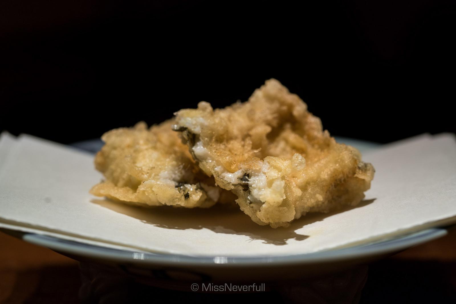 15. 穴子 (Anago) Sea eel with ginger