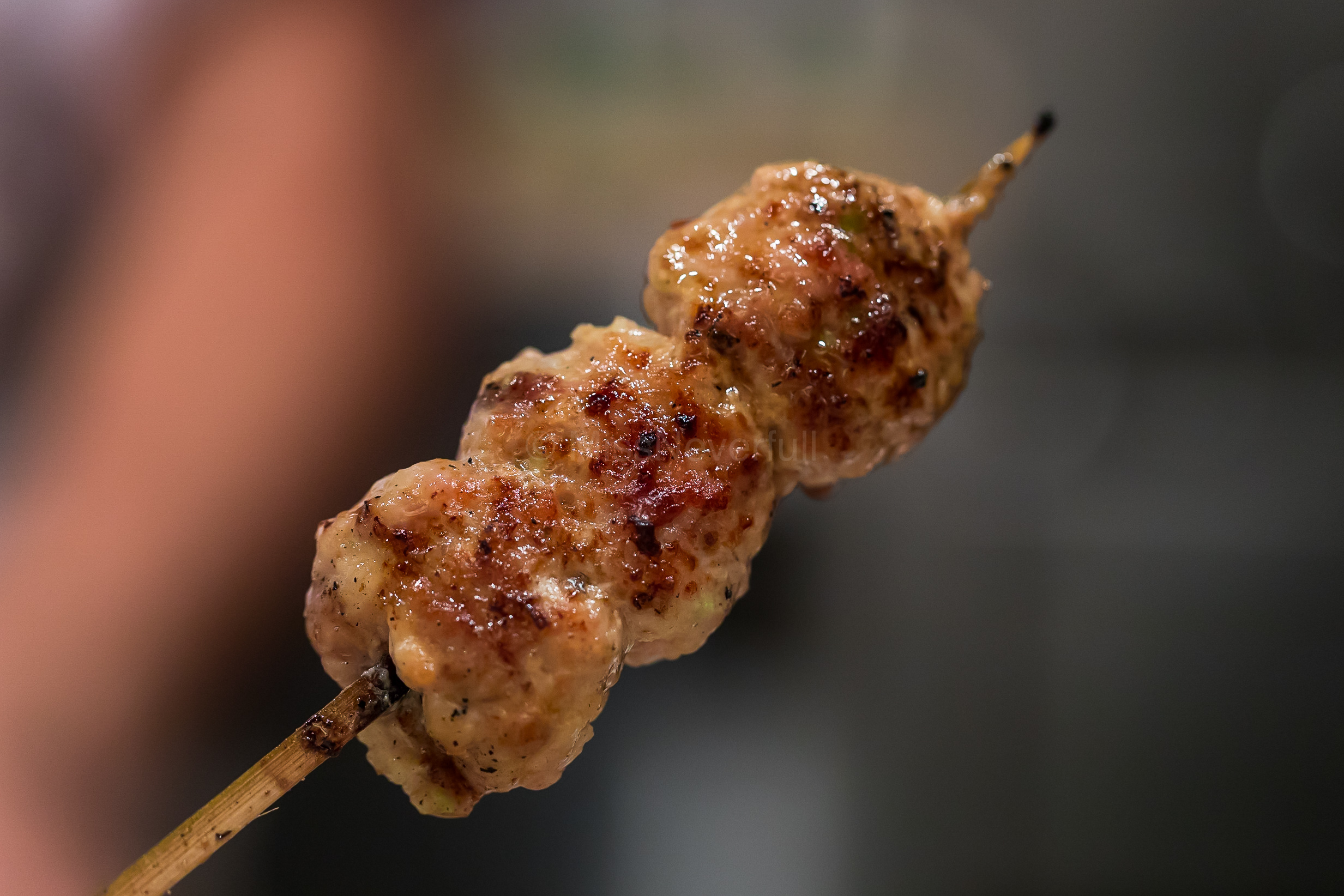 12. Tsukune (chicken meatballs) | つくね