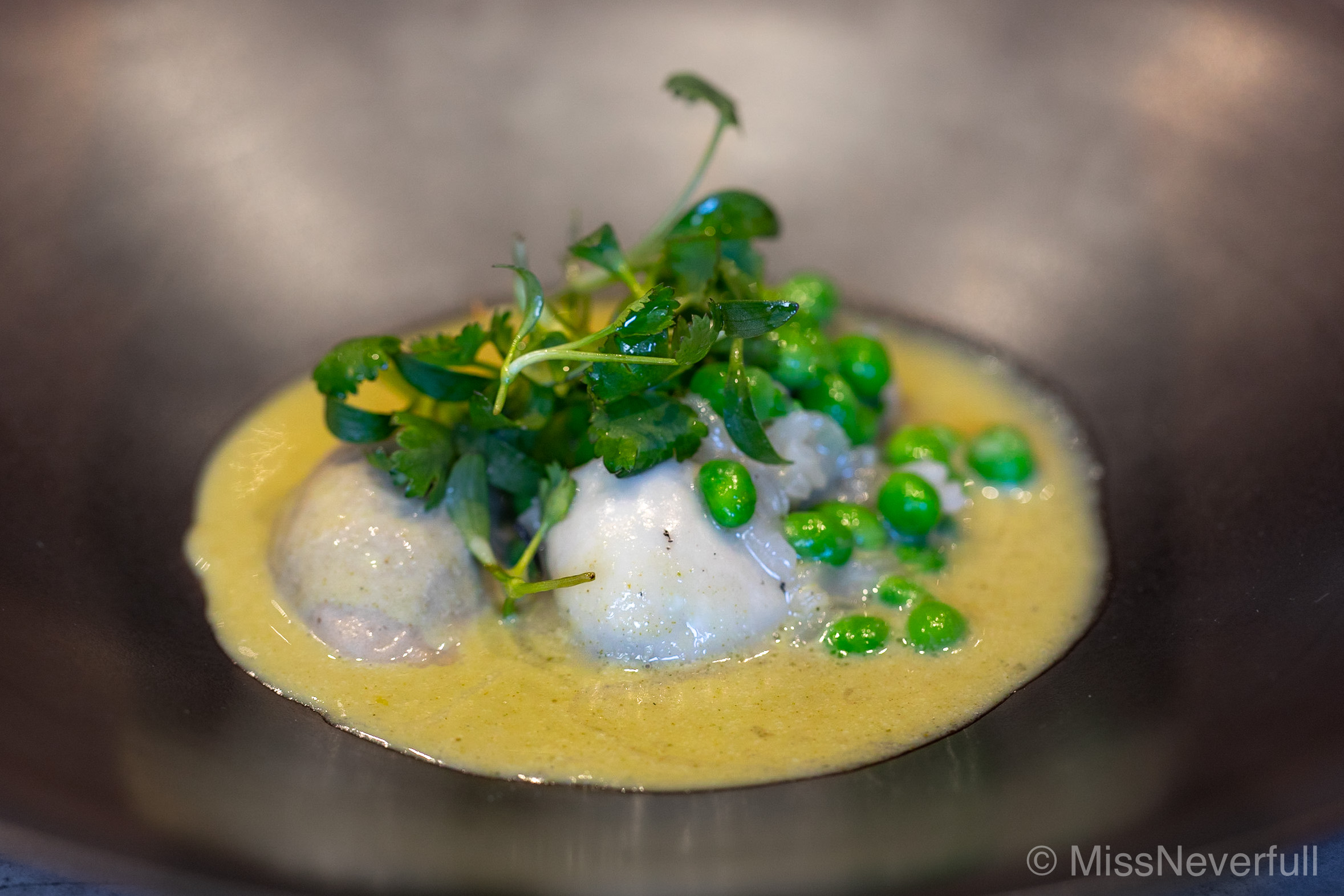 4.Oyster & snap peas