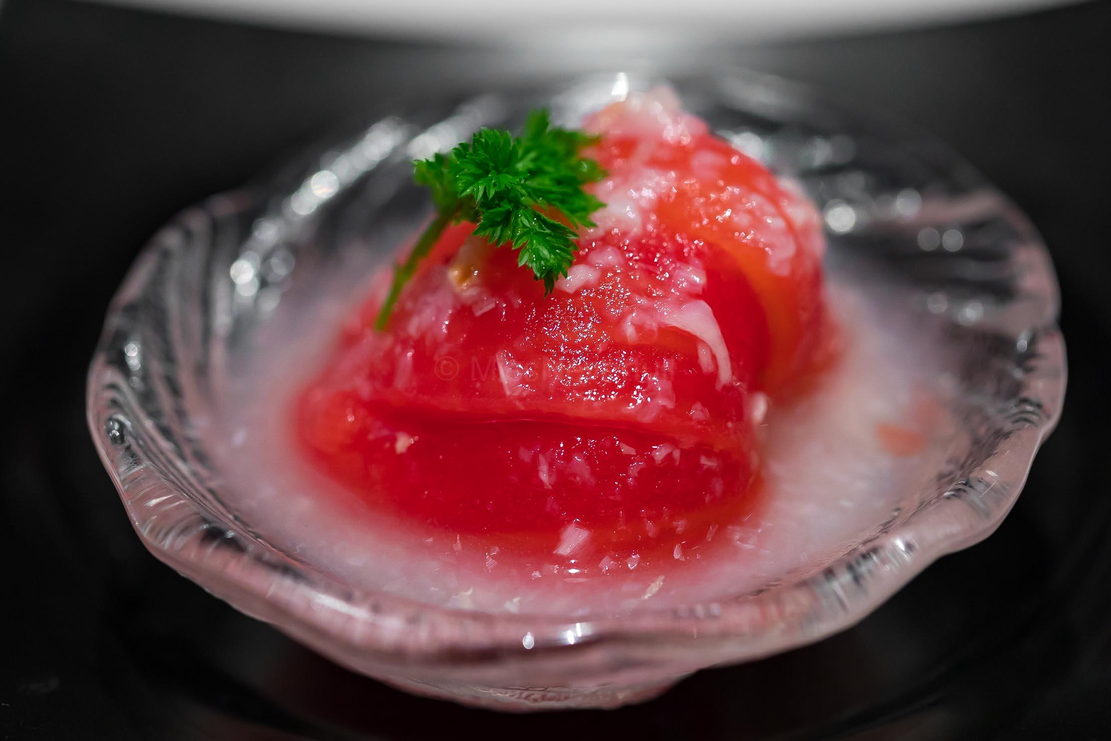 荔枝番茄 Marinated Tomato in Lychee Sauce