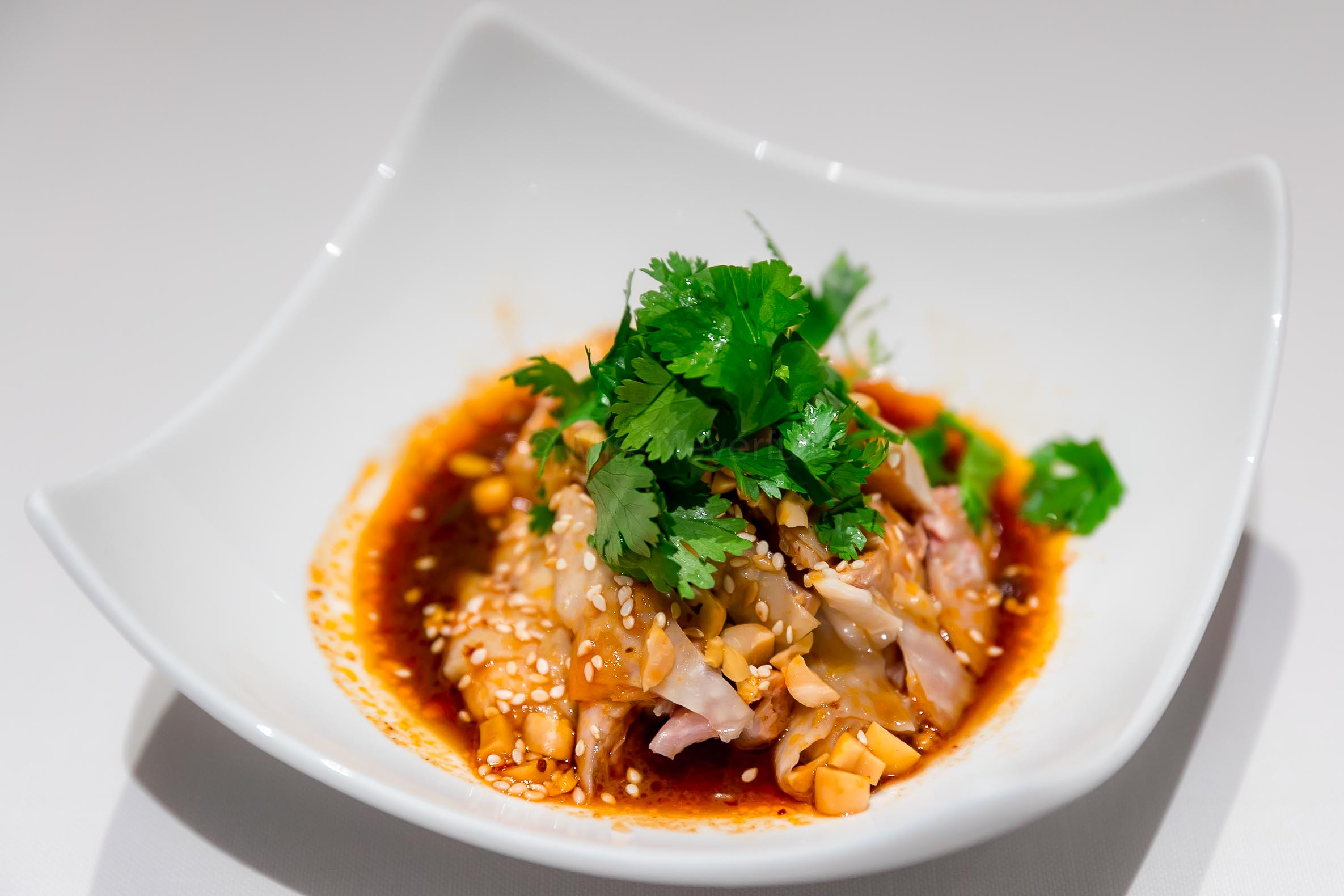 四川口水雞 Spicy Chicken Sichuan Style