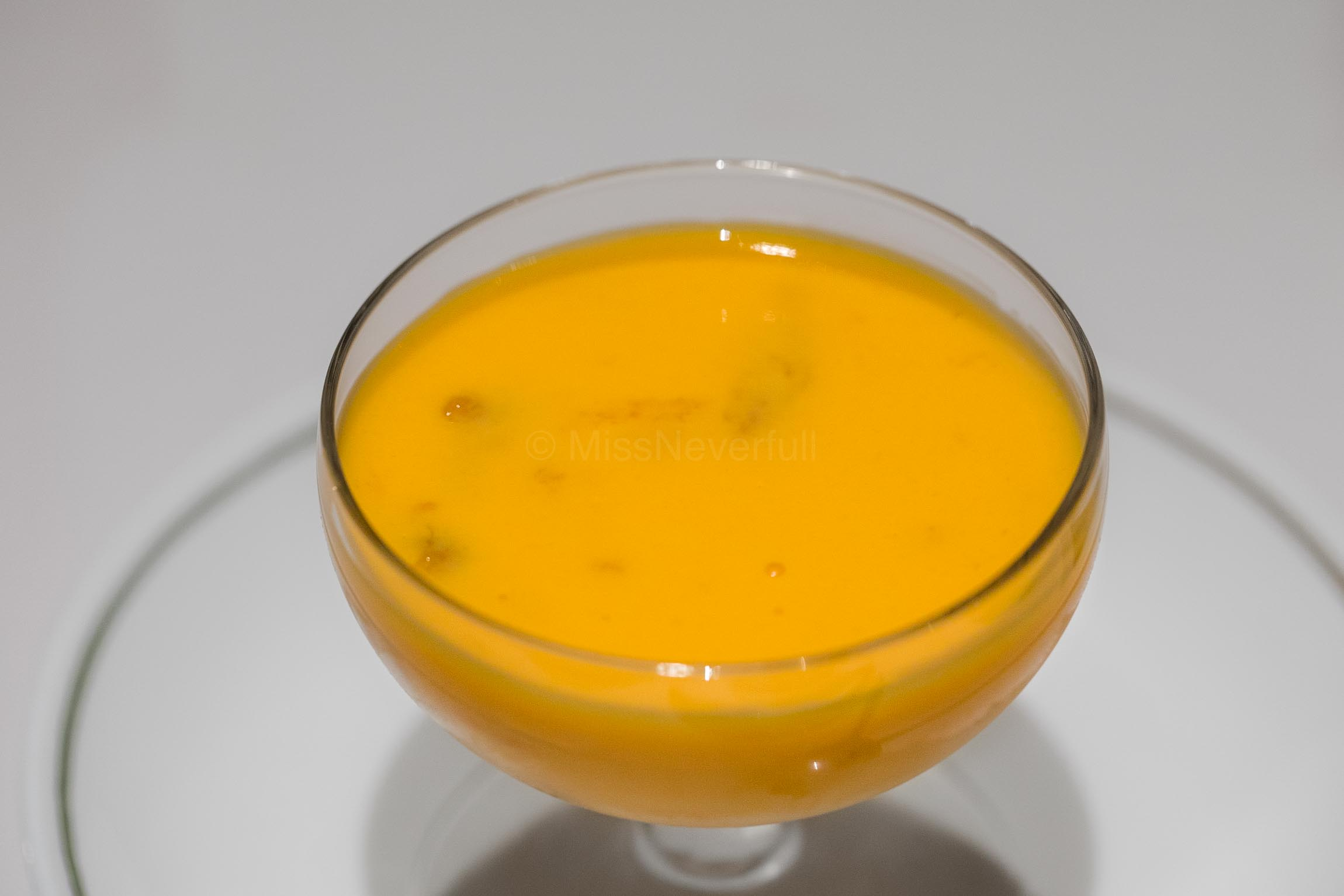 鮮芒果布丁 Fresh Mango Pudding