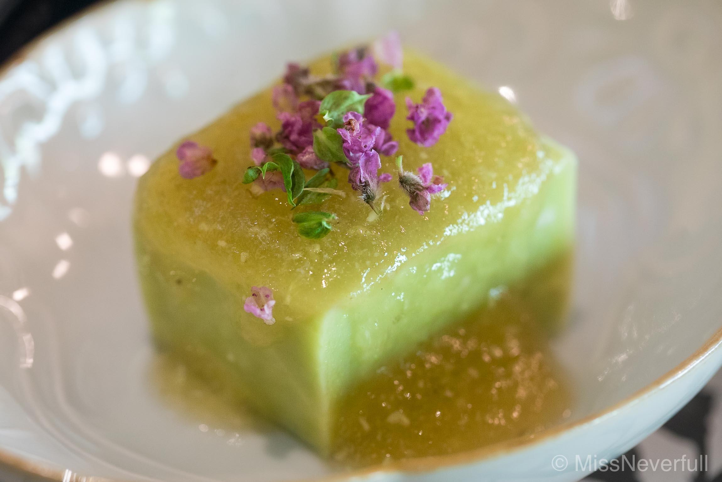 Appetizer 1: Goma-tofu