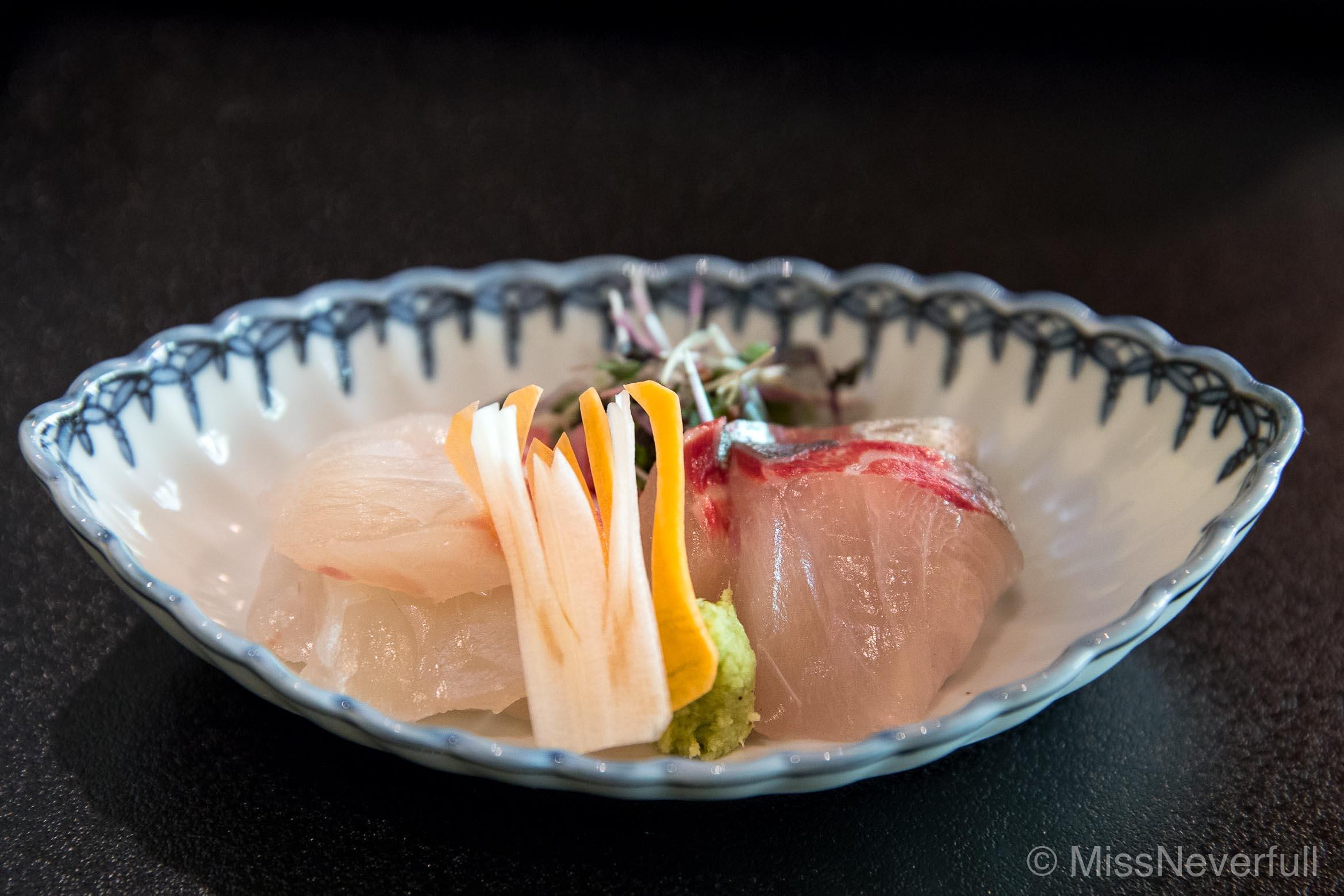 Appetizer 2: Sashimi