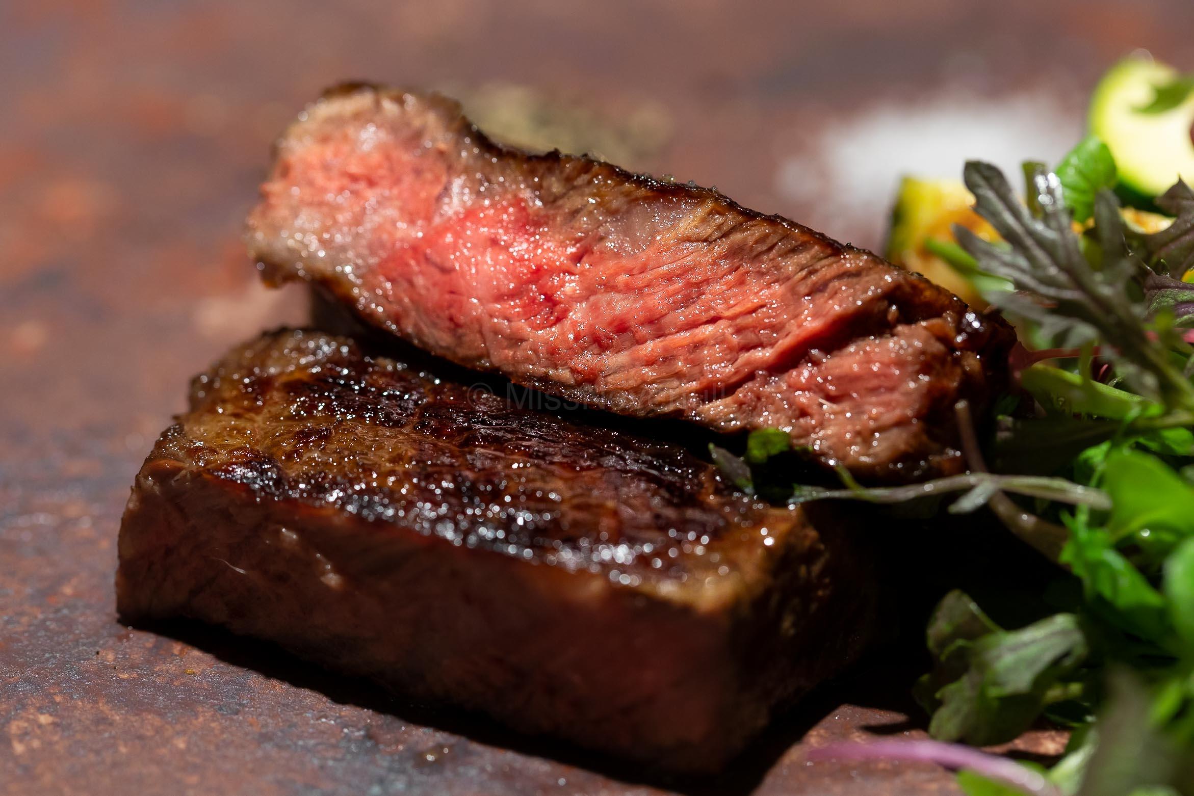 6. The signature Wood-fired Tacubo Wagyu Steak