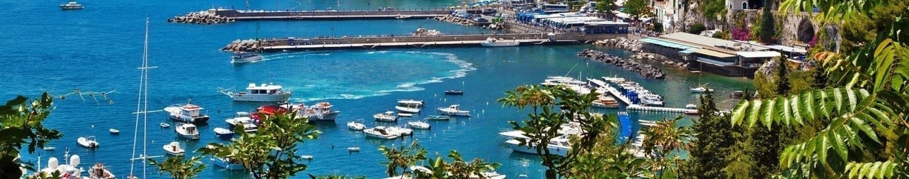A view of the Amalfi Harbor - Planning for Retirement