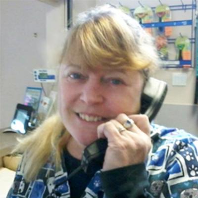 Janet Receptionist at Diamond Vet
