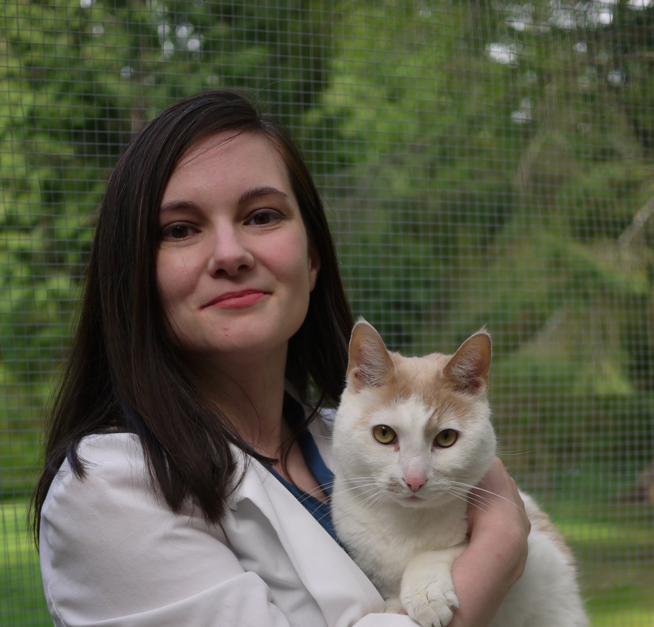 Warm welcome to Dr. Kristina Modjeski and her cat, Henry. She has been a long-time fan of Diamond and the exceptional care we provide to our clients and their pets.