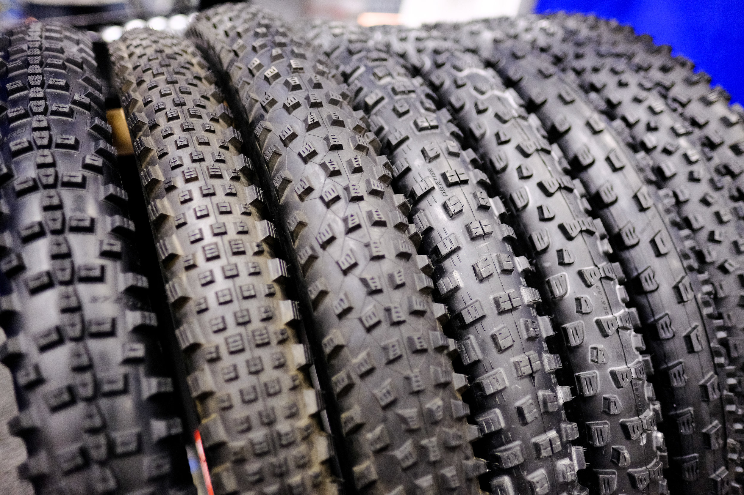 Schwalbe also has a lot of plus-size rubber ready to outfit your rig.
