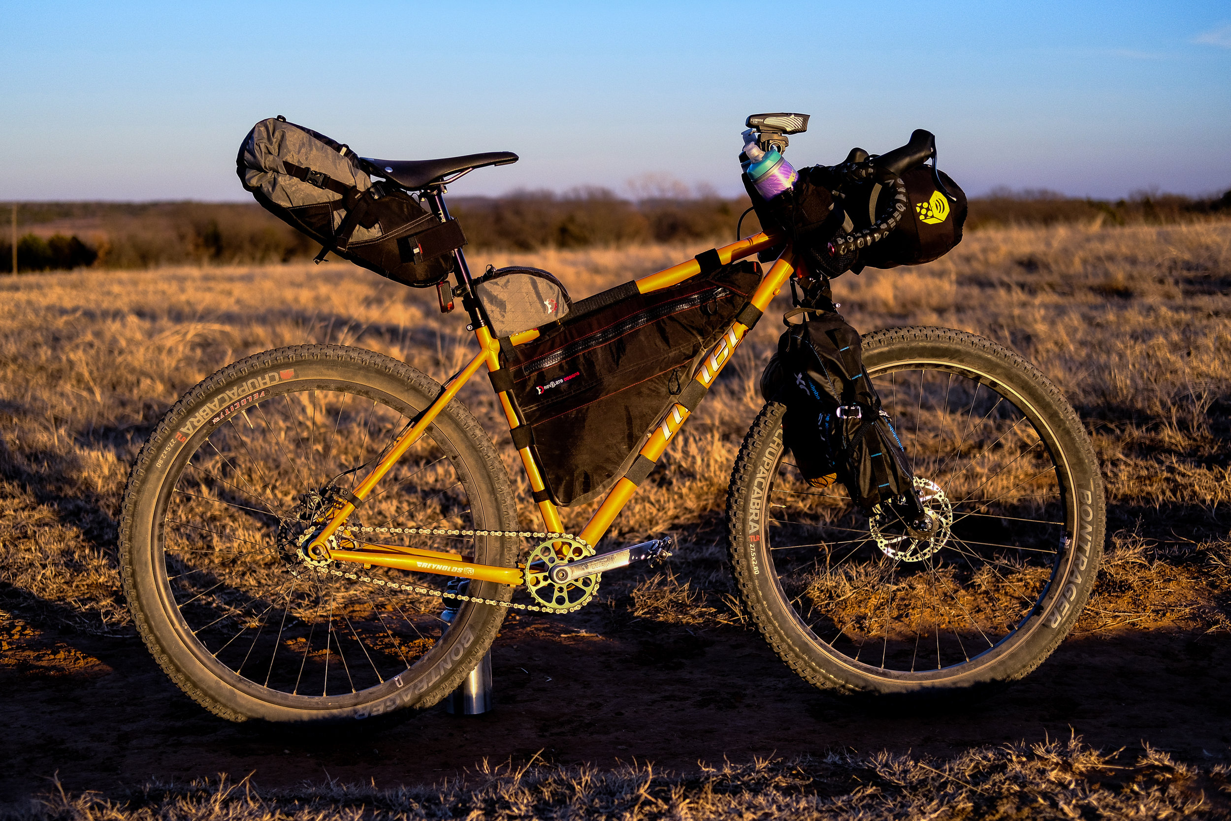 Tyler Siems' MTB Abomination: Glamping Edition. Give him a follow @getwide!