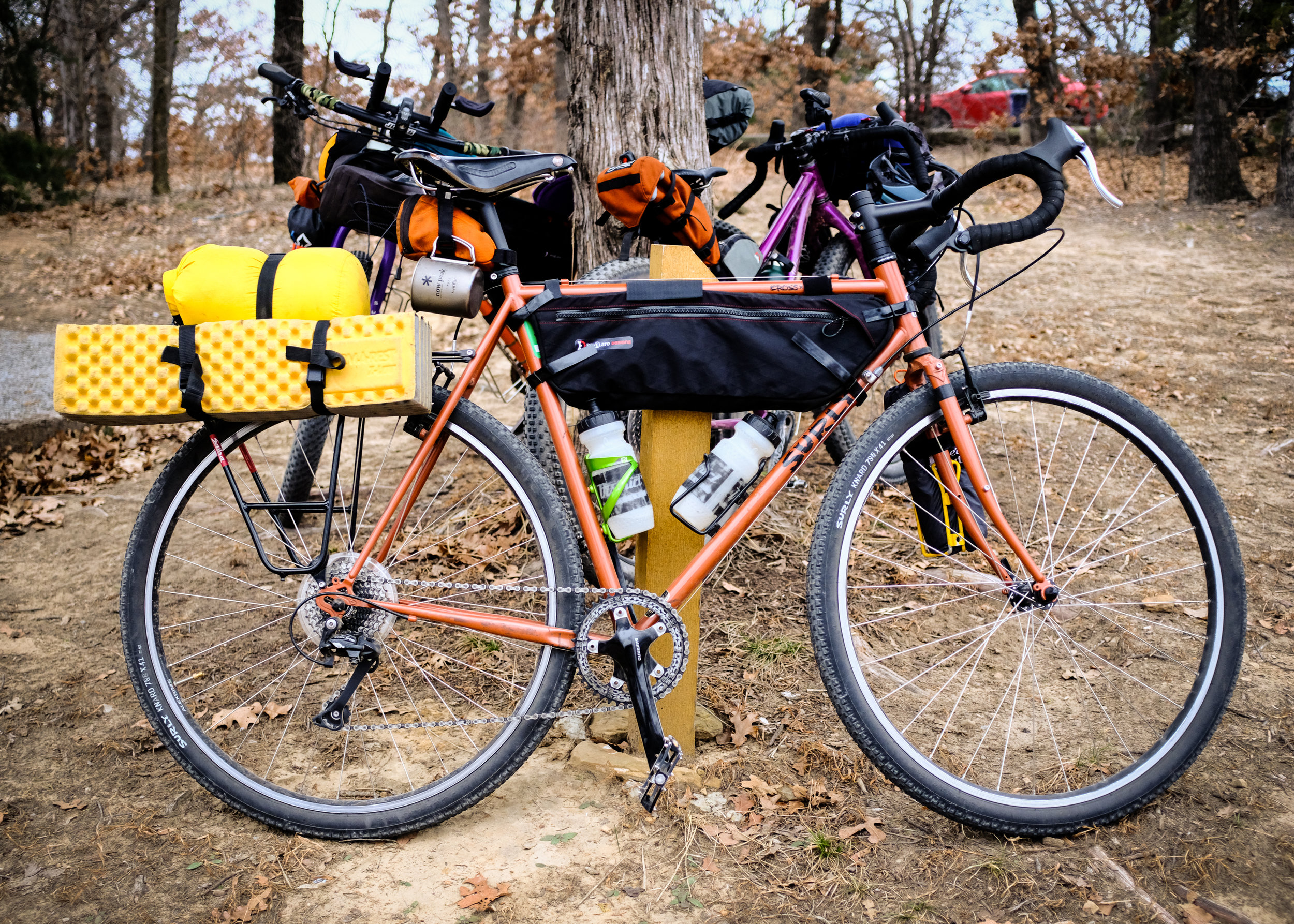 JT Gragg's Surly Cross-Check Bivouac Machine