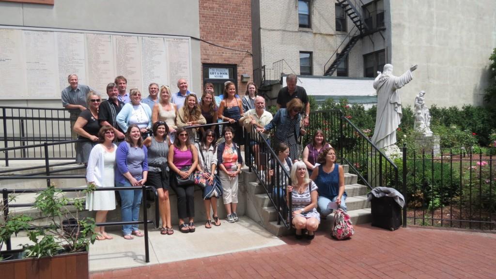 La famiglia Damplo a Boston