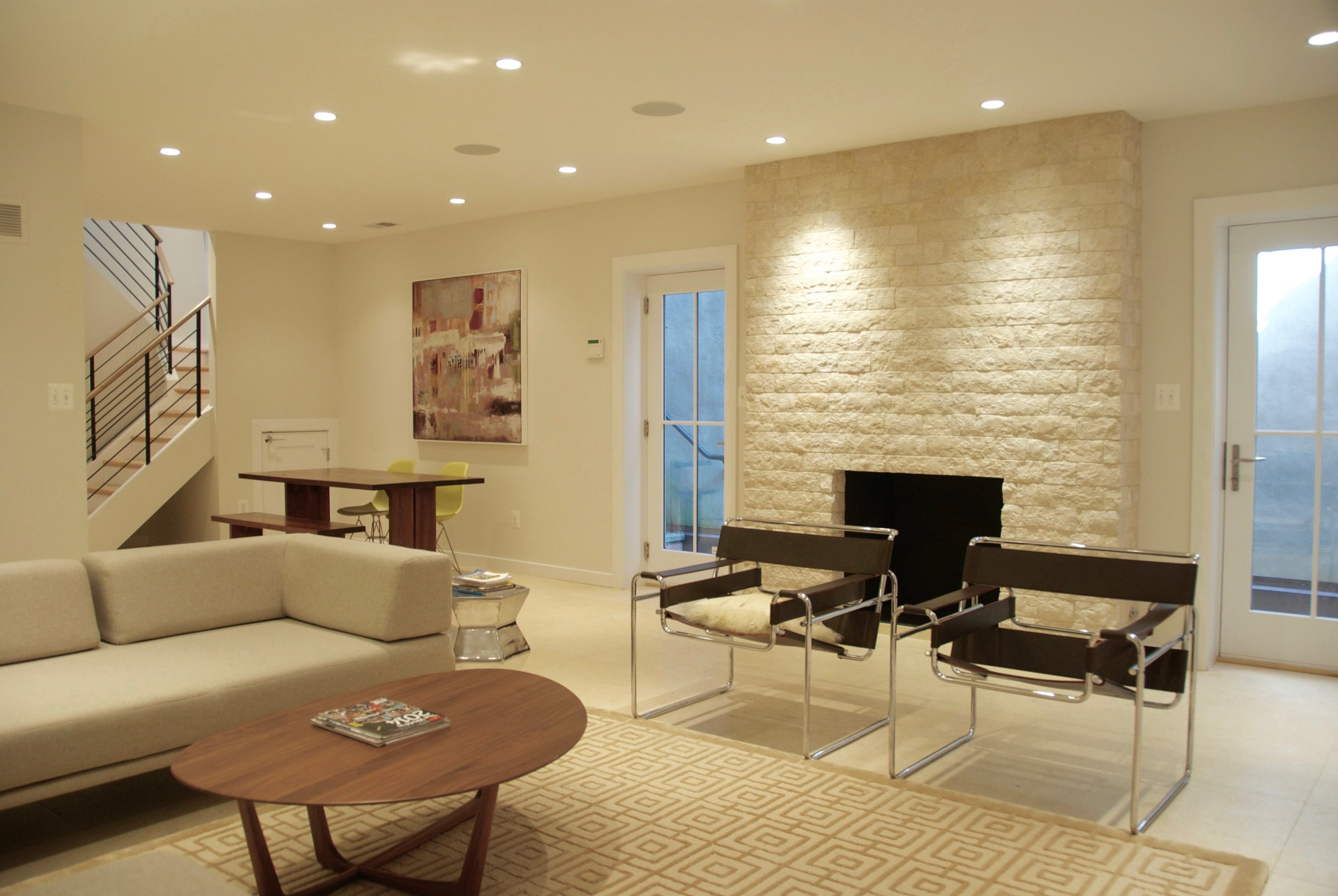 Interiors for a New House in Alexandria, VA