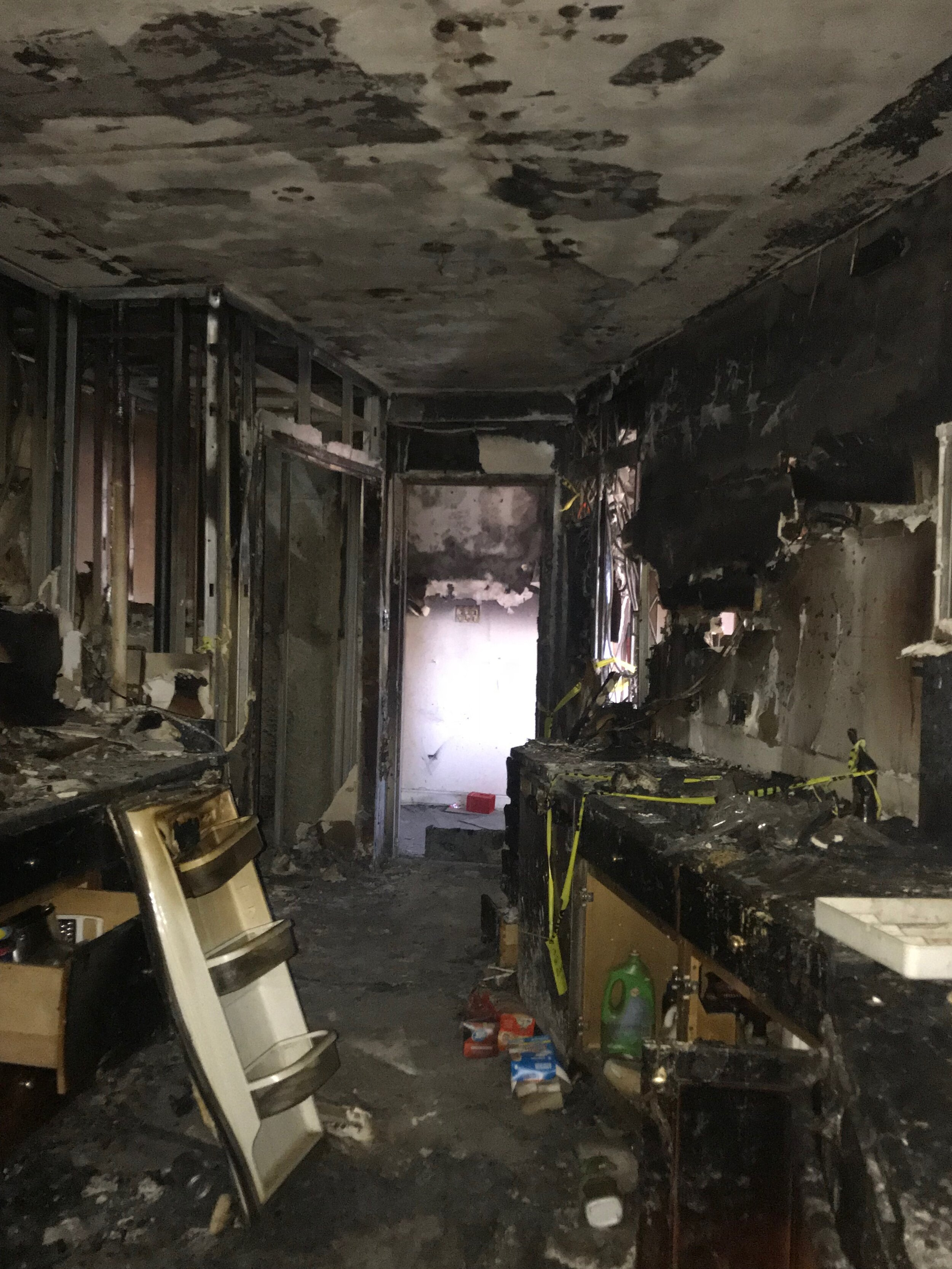 BEFORE picture of Kitchen after fire