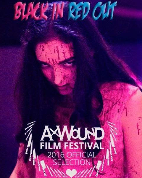 So happy to be accepted to Ax Wound Film Festival! This festival is an amazing resource for women filmmakers working in the horror genre and we are so thrilled and honored to participate 💀💗💀💗💀💗💀💗💀💗💀💗💀💗 @axwoundfilmfestival  @blackinredout  #AxWoundFilmFestival #AWFF #womeninfilm #horrorfilm #womeninhorror