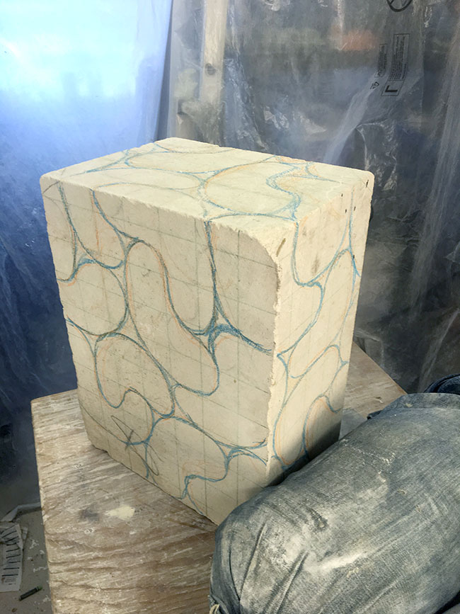 For those at the back, here's a block of stone.