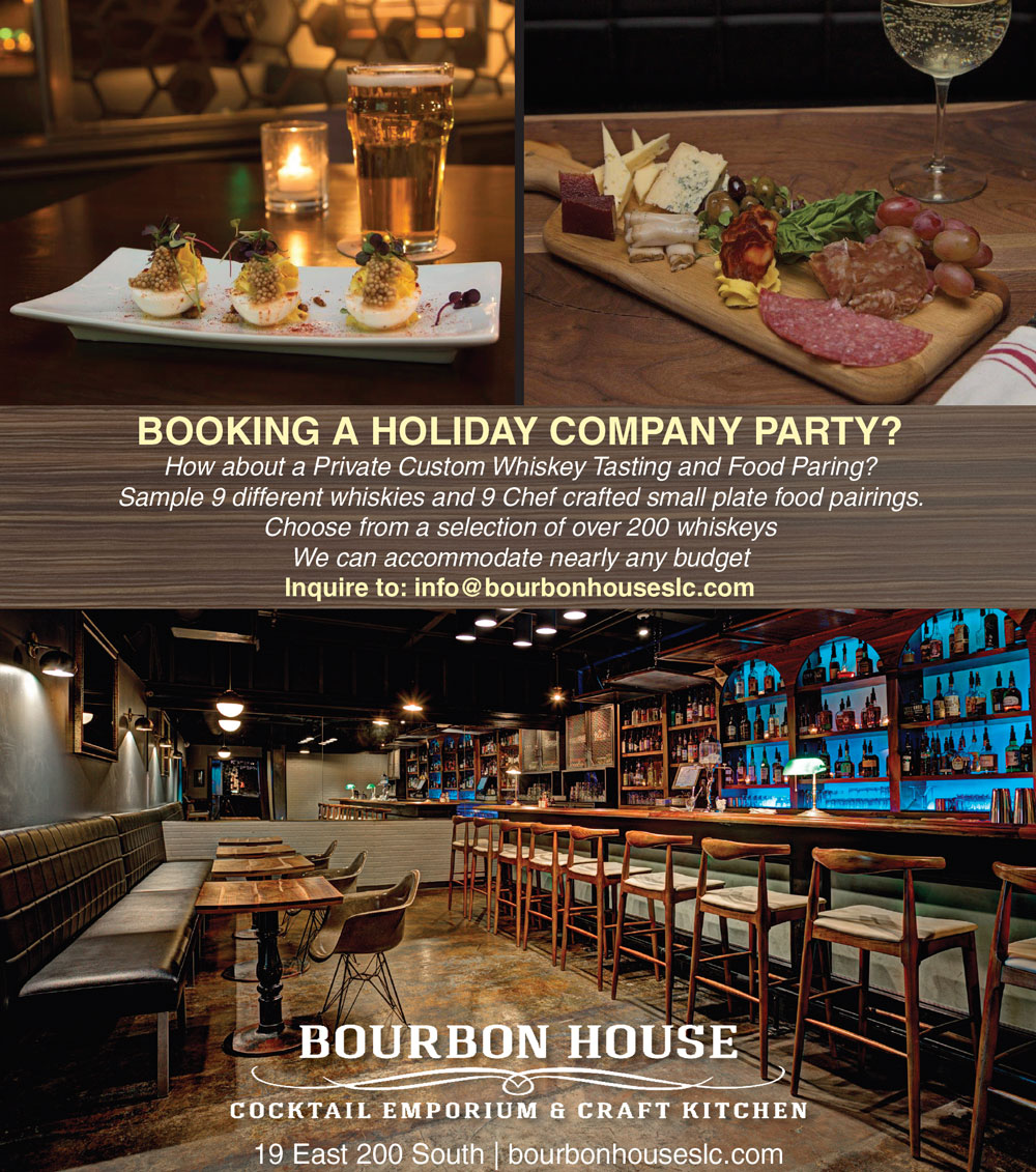 Book a Holiday Party at Bourbon House in Salt Lake City Utah