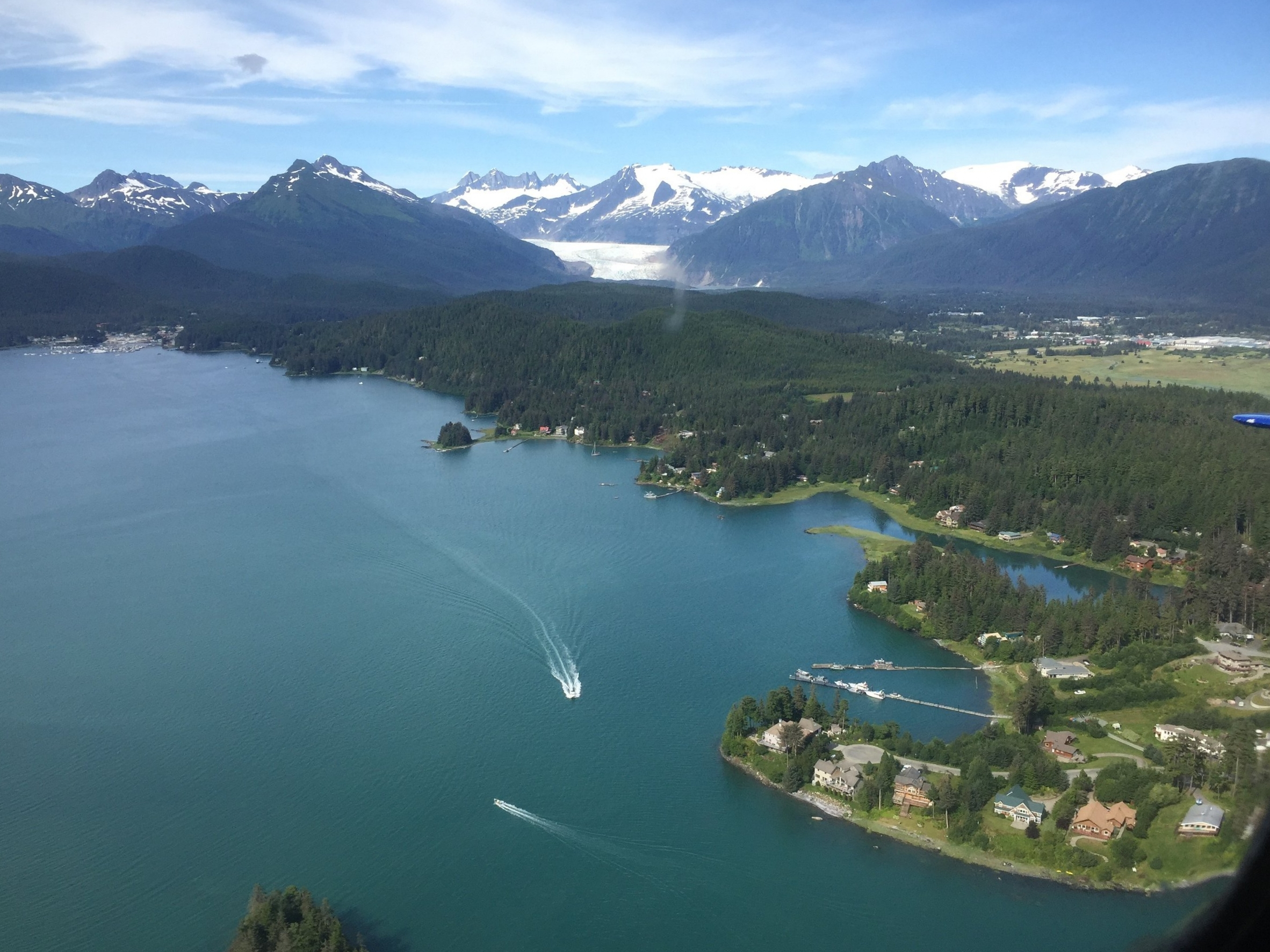 Juneau Ice Fields, Mendenhall Glacier, Auke Bay- Fishing and Whale Watching with Forty Ninth Fathom Charters