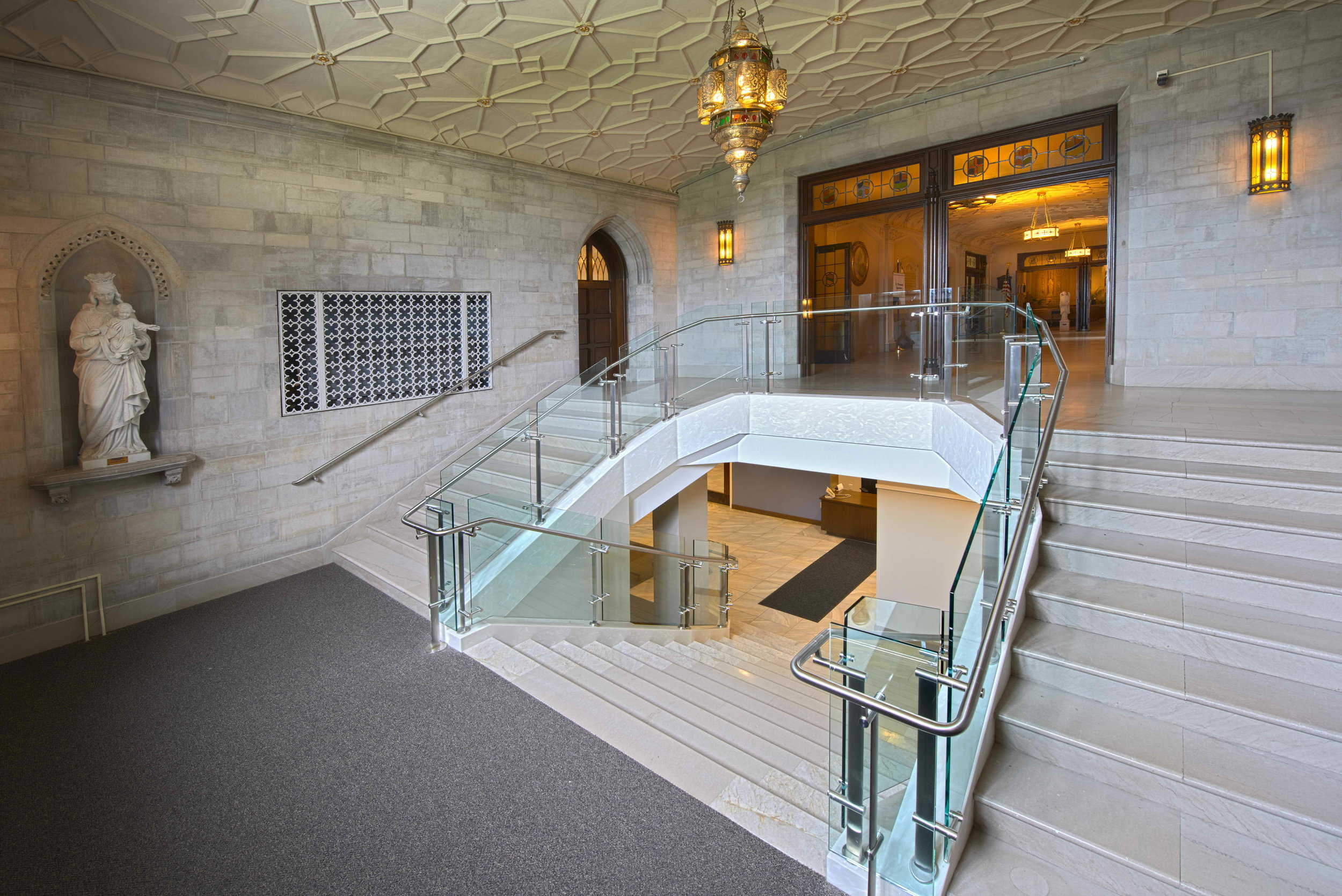 Entrance and Stairway