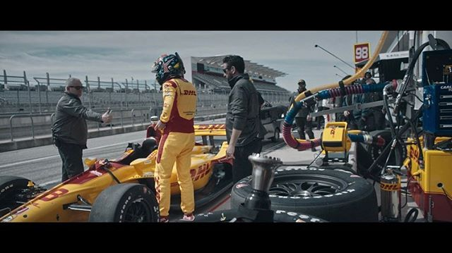Final frames from the Indy 500 Firestone spots w/ @hamoodyjaafar & @wethepeople.tv . Color by @ty.roth 🌈