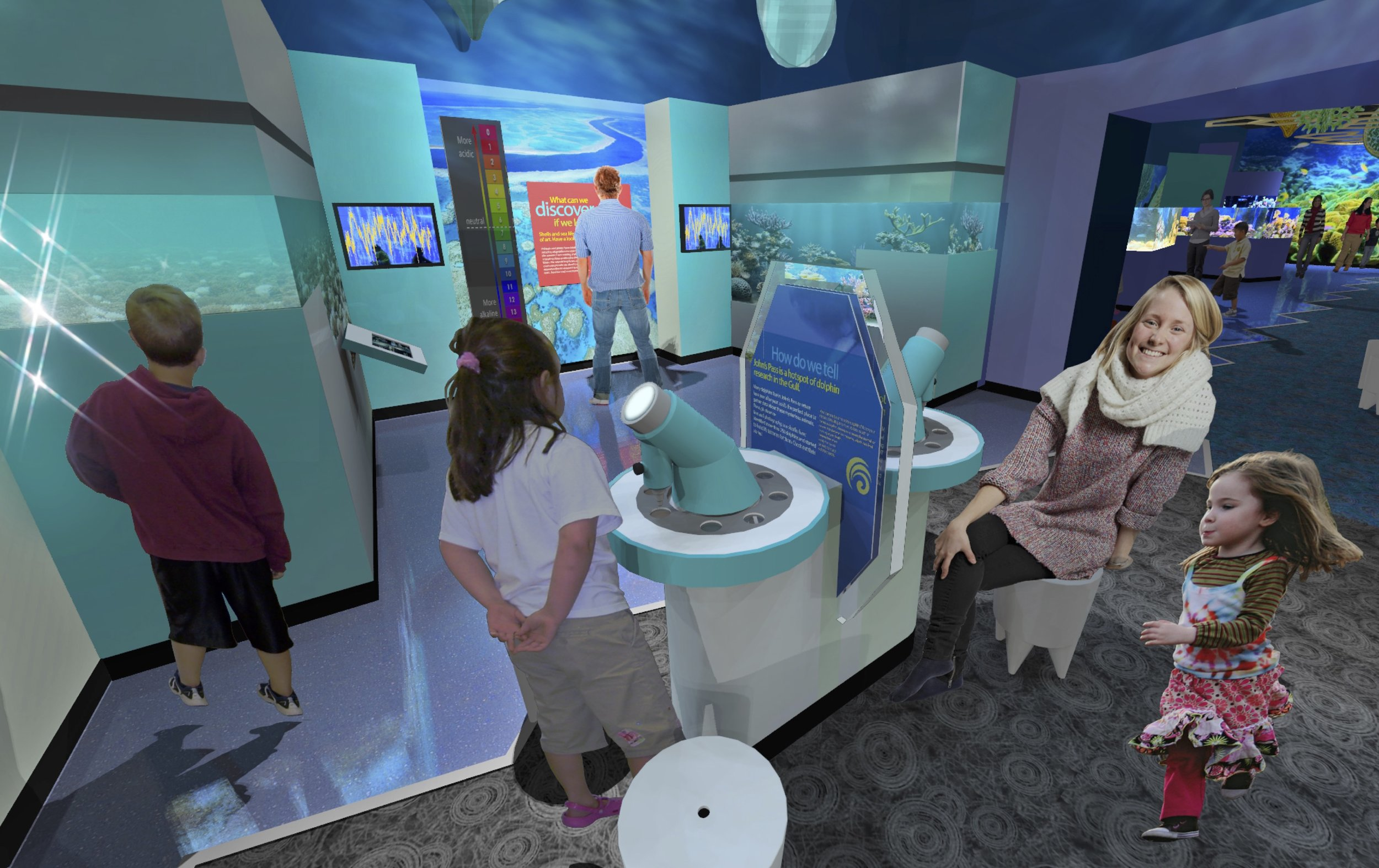 Artist Rendering of Forthcoming Exhibits