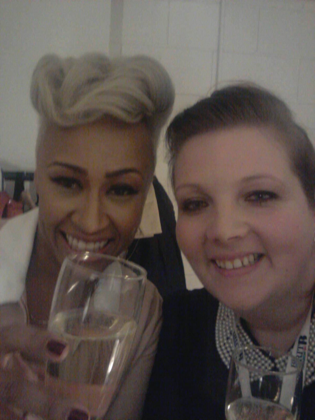 Emeli Sandé at the Brit Awards
