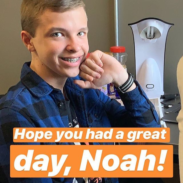Loved having Noah in the office today as part of a job shaddow program for his school! The future's bright, y'all! #graphicdesign #marketing #advertising