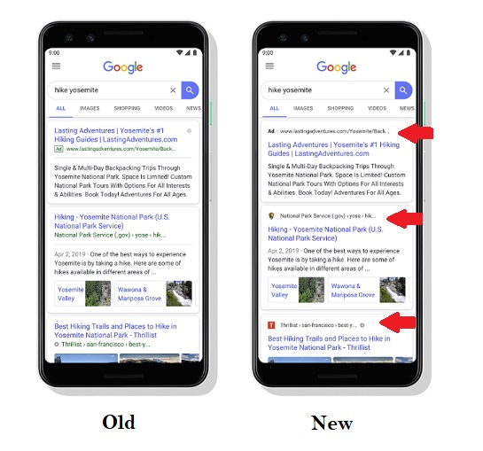 Google's Updating its Search Listings with New Brand Icons, and an Alternative Ad Format