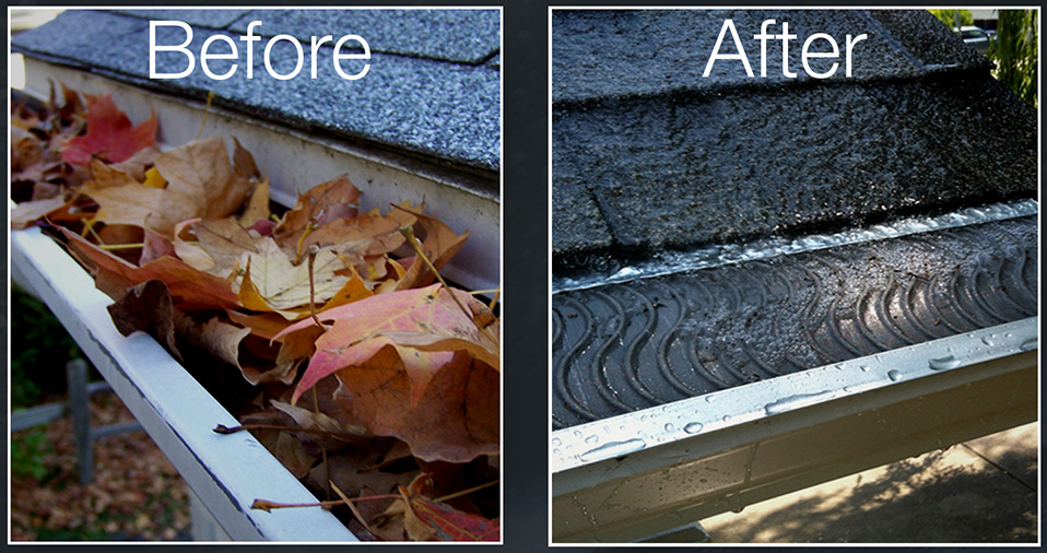 Click the image to download a Valor Gutter Guard brochure