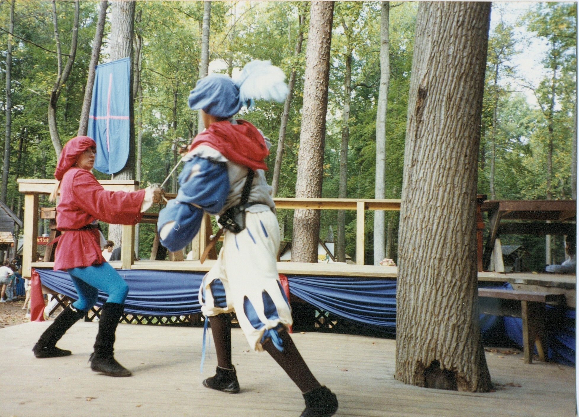 Renaissance Sword Play