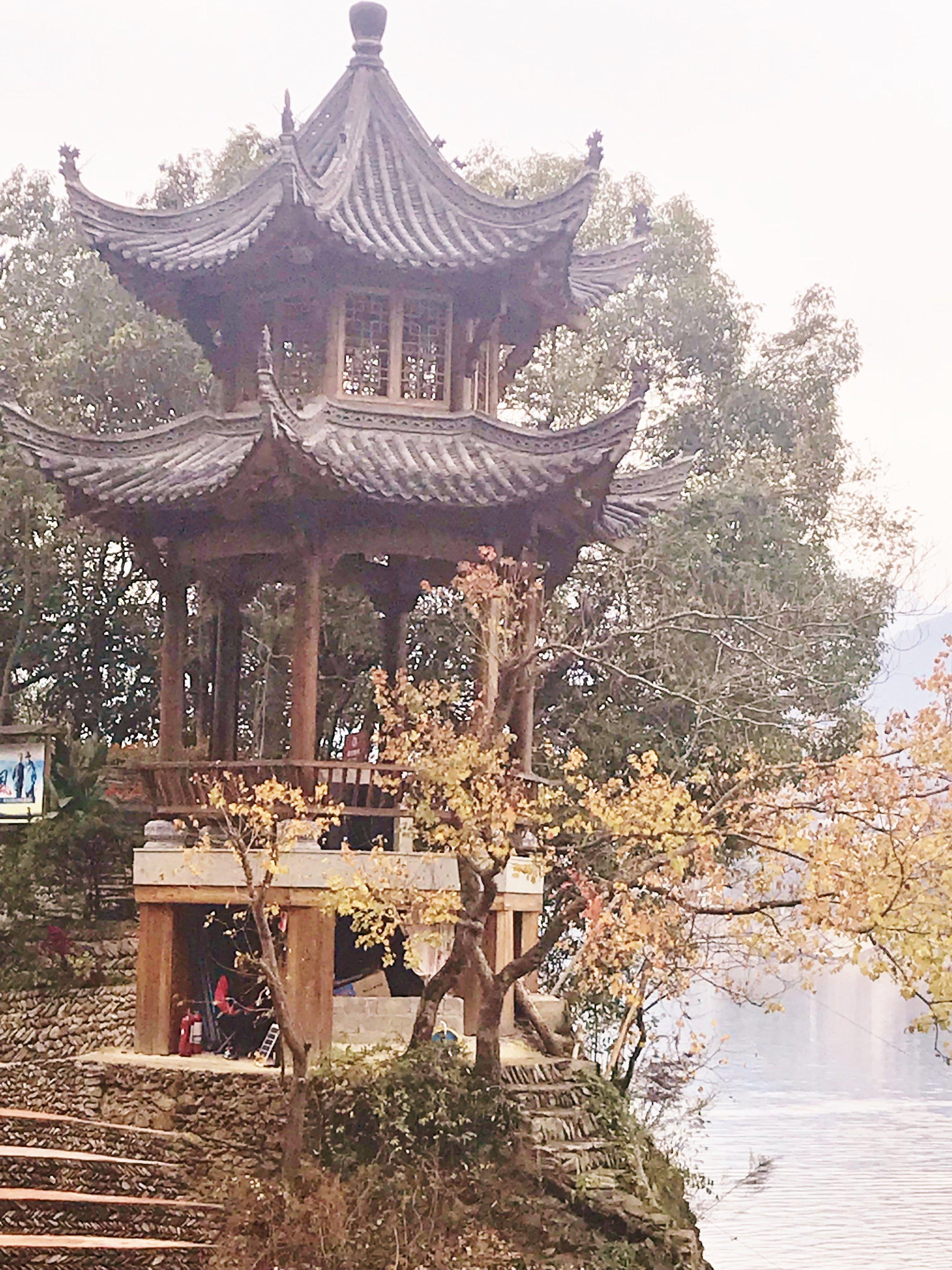 Amphitheater at Shen Du River