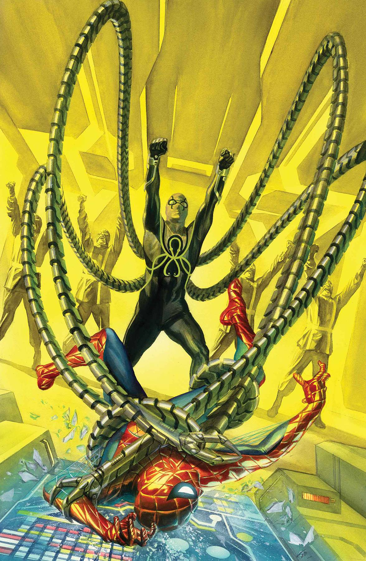 AMAZING SPIDER-MAN 29 BY ALEX ROSS POSTER.jpg