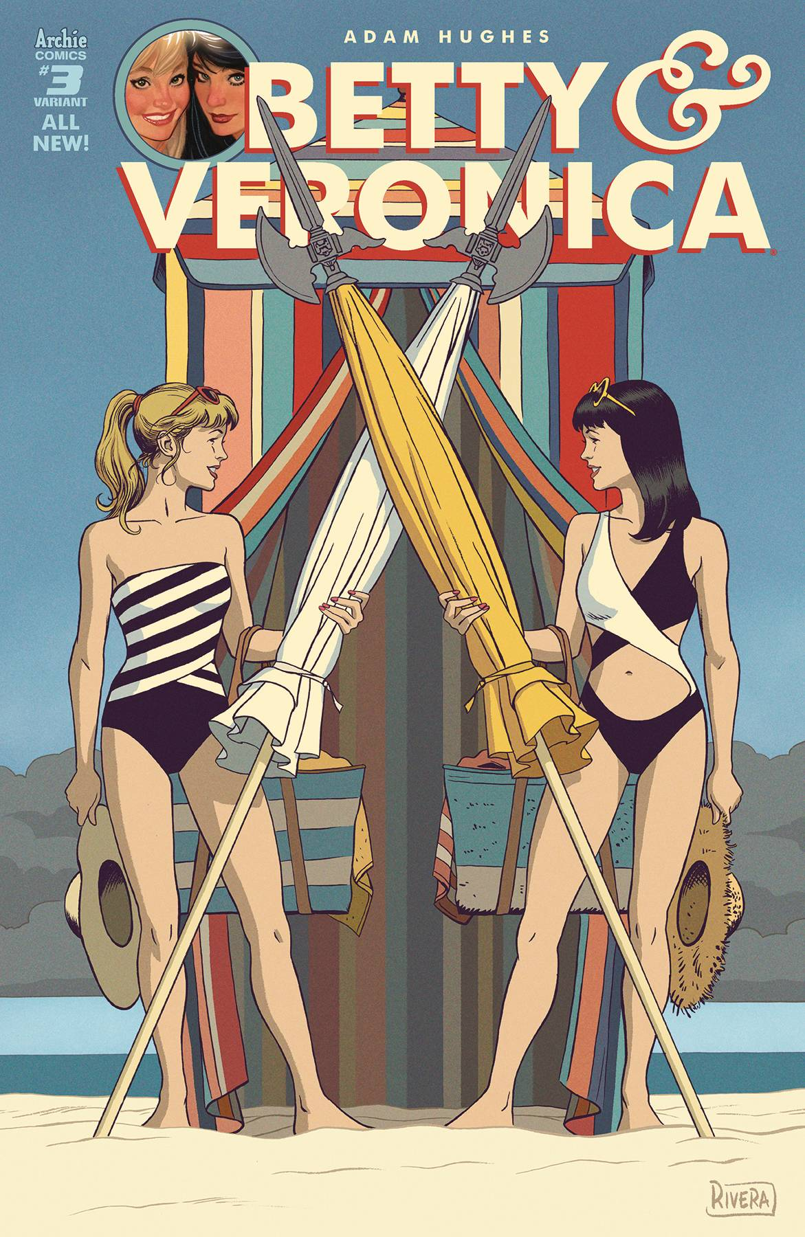BETTY & VERONICA BY ADAM HUGHES 3 CVR E VAR RIVERA.jpg
