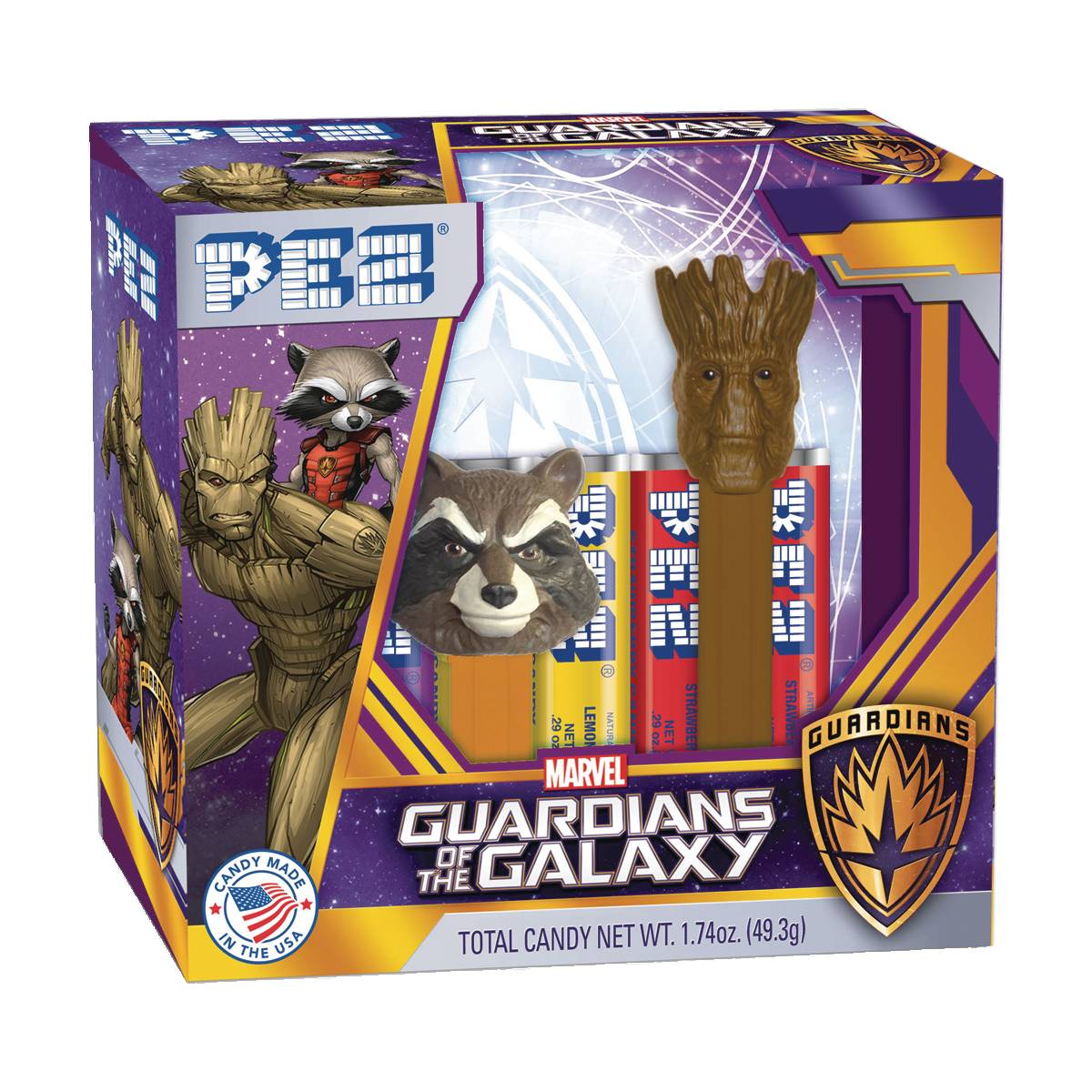 PEZ GOTG GROOT AND ROCKET RACOON 2PK 12PC BLISTER DIS.jpg