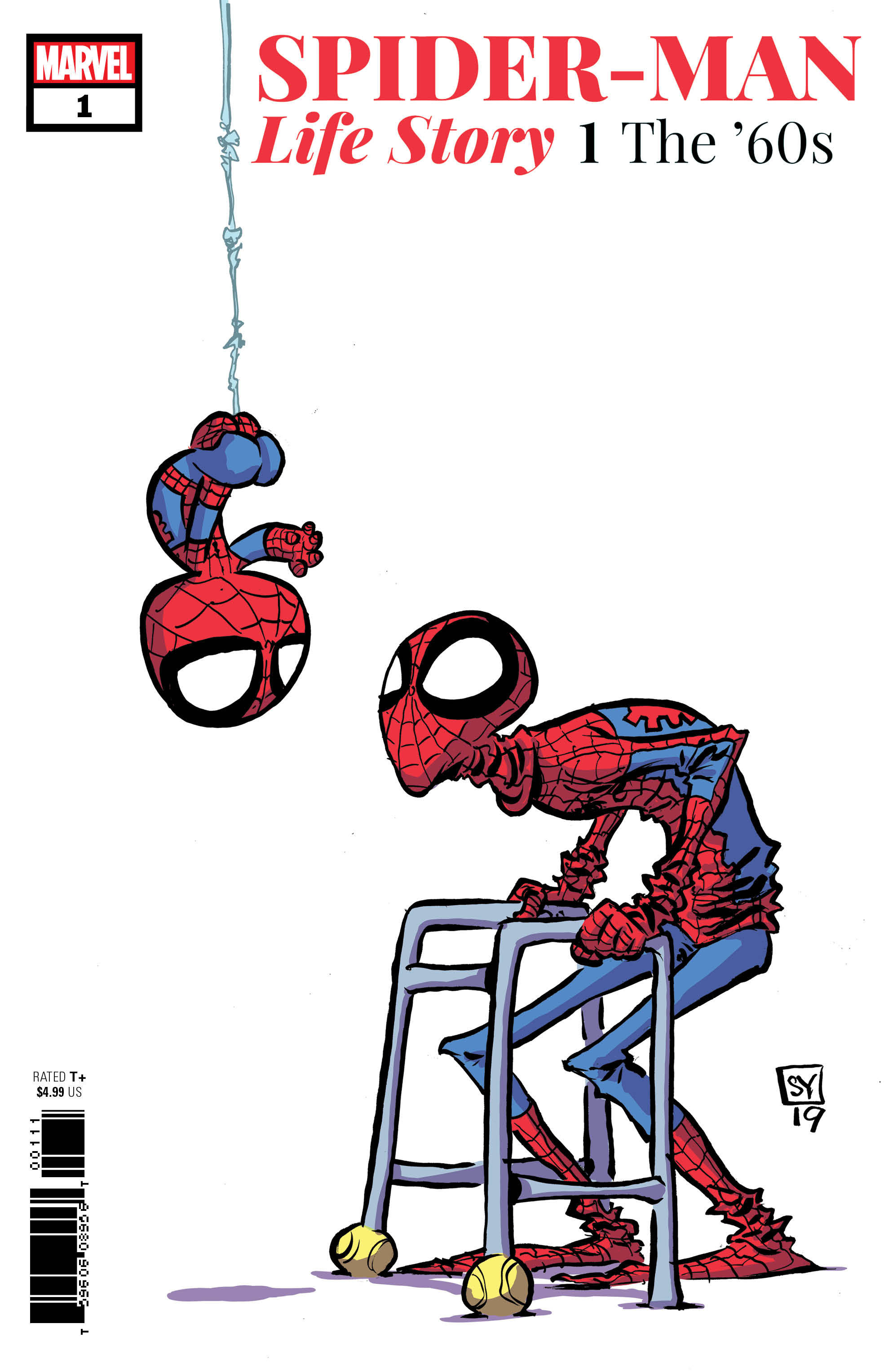 SPIDER-MAN LIFE STORY 1 of 6 YOUNG VAR.jpg