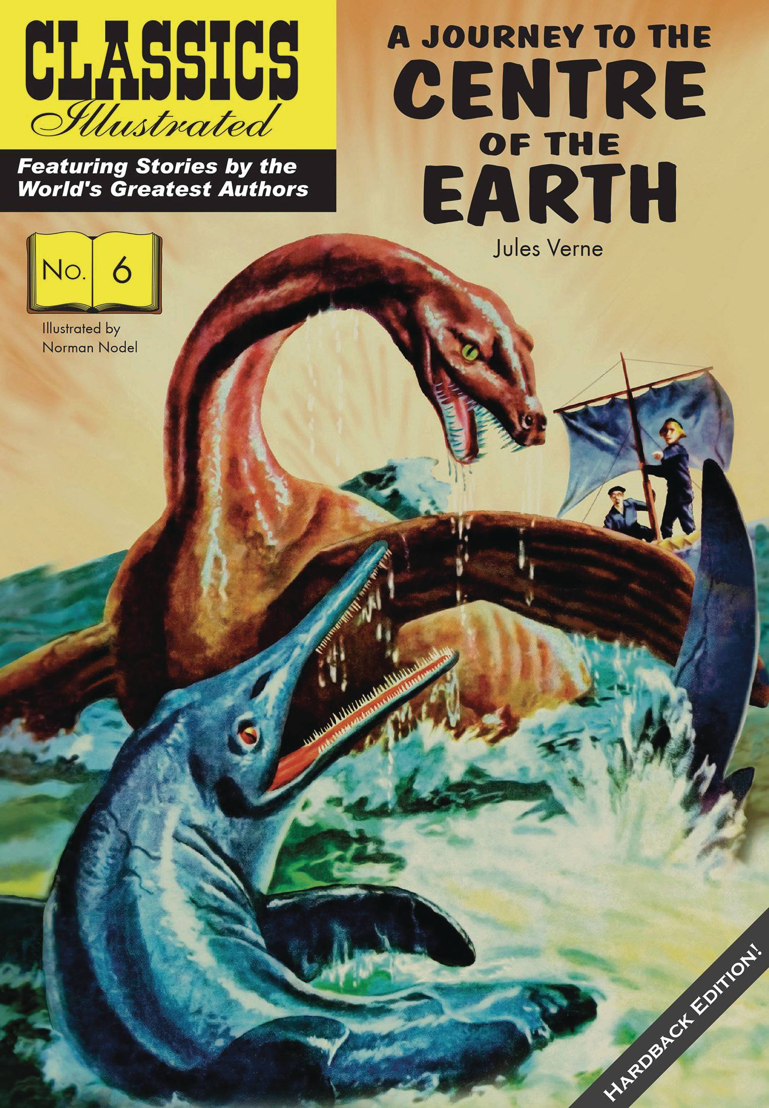 CLASSIC ILLUSTRATED REPLICA ED HC JOURNEY TO CENTER OF EARTH.jpg