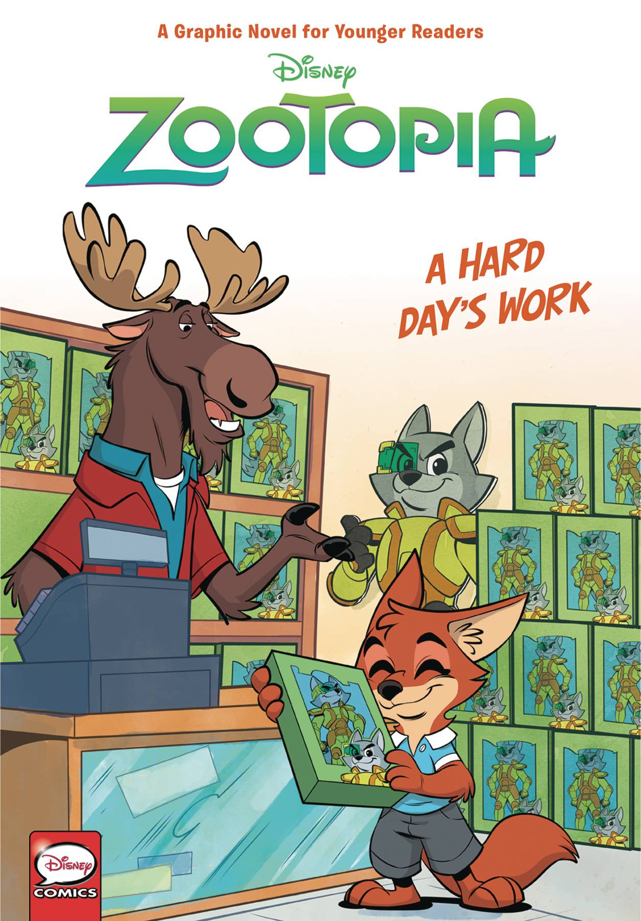DISNEY ZOOTOPIA HC HARD DAYS WORK (YOUNGER READERS).jpg