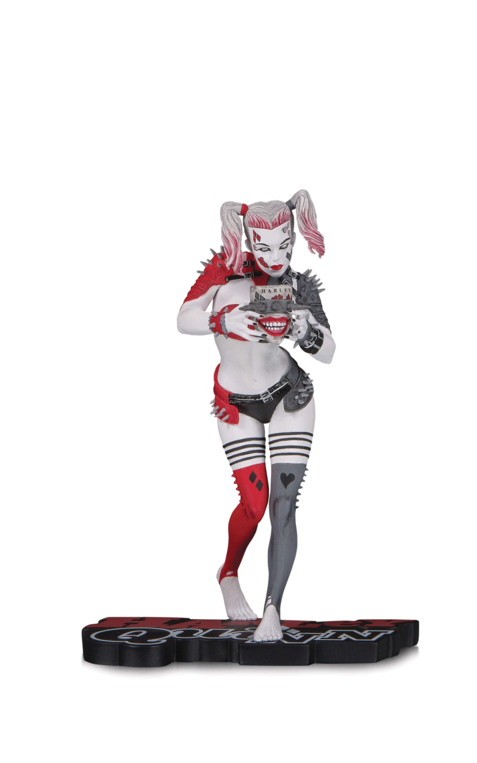 HARLEY QUINN RED WHITE & BLACK STATUE BY GREG HORN.jpg