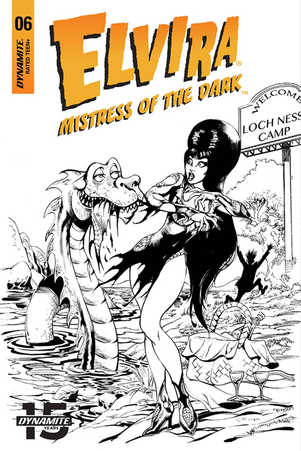 ELVIRA MISTRESS OF DARK #6 15 COPY CASTRO FOC B&W INCV.jpg