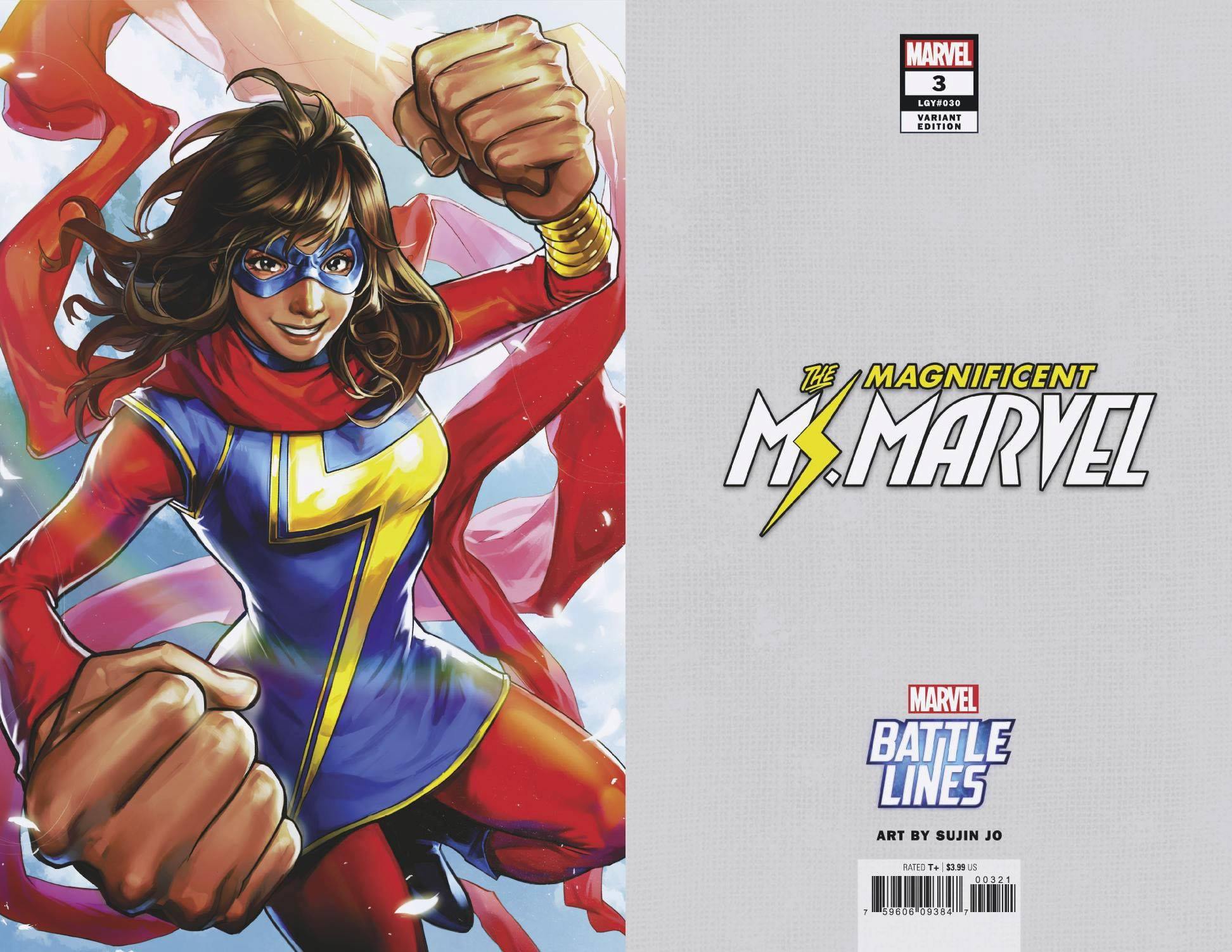 MAGNIFICENT MS MARVEL 3 SUJIN JO MARVEL BATTLE LINES VAR.jpg