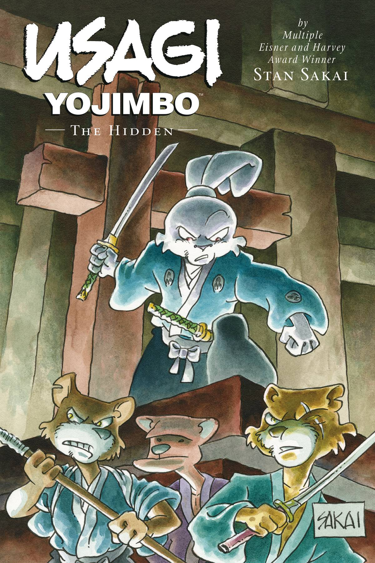 USAGI YOJIMBO LTD ED HC 33 HIDDEN.jpg