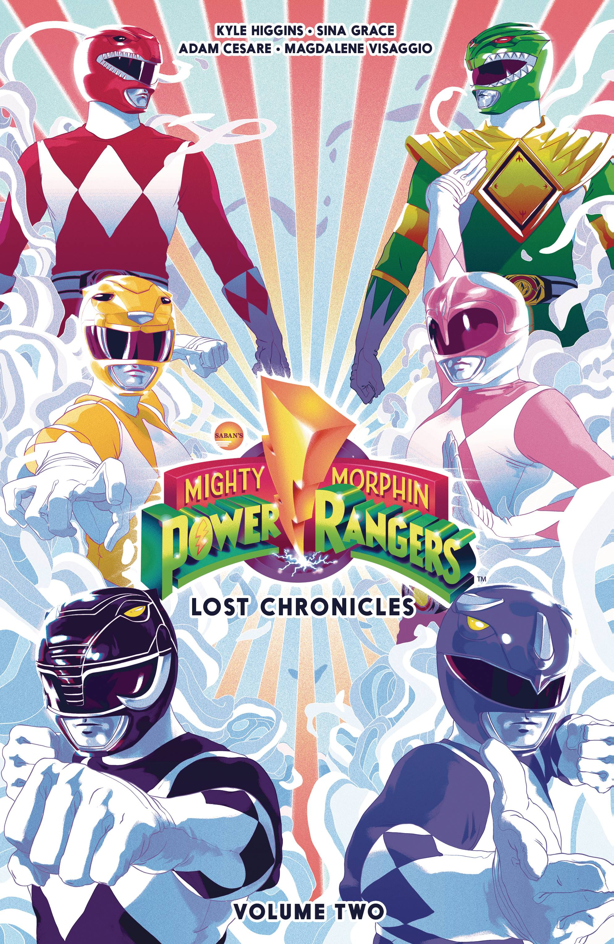 MIGHTY MORPHIN POWER RANGERS LOST CHRONICLES TP 2.jpg
