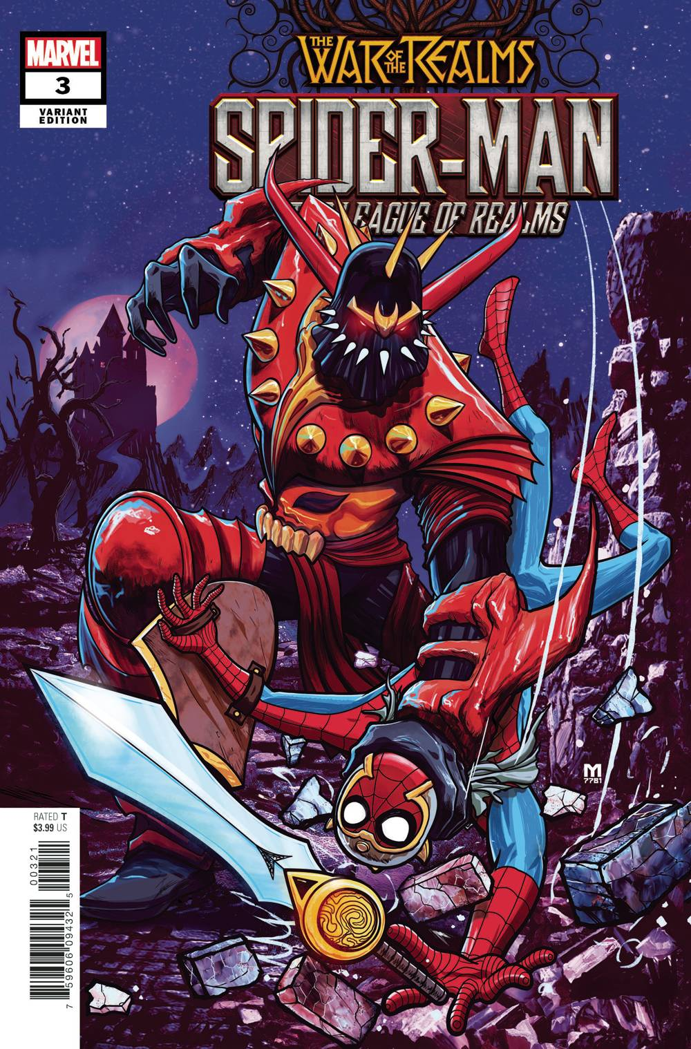 SPIDER-MAN & LEAGUE OF REALMS 3 of 3 DALFONSO VAR.jpg