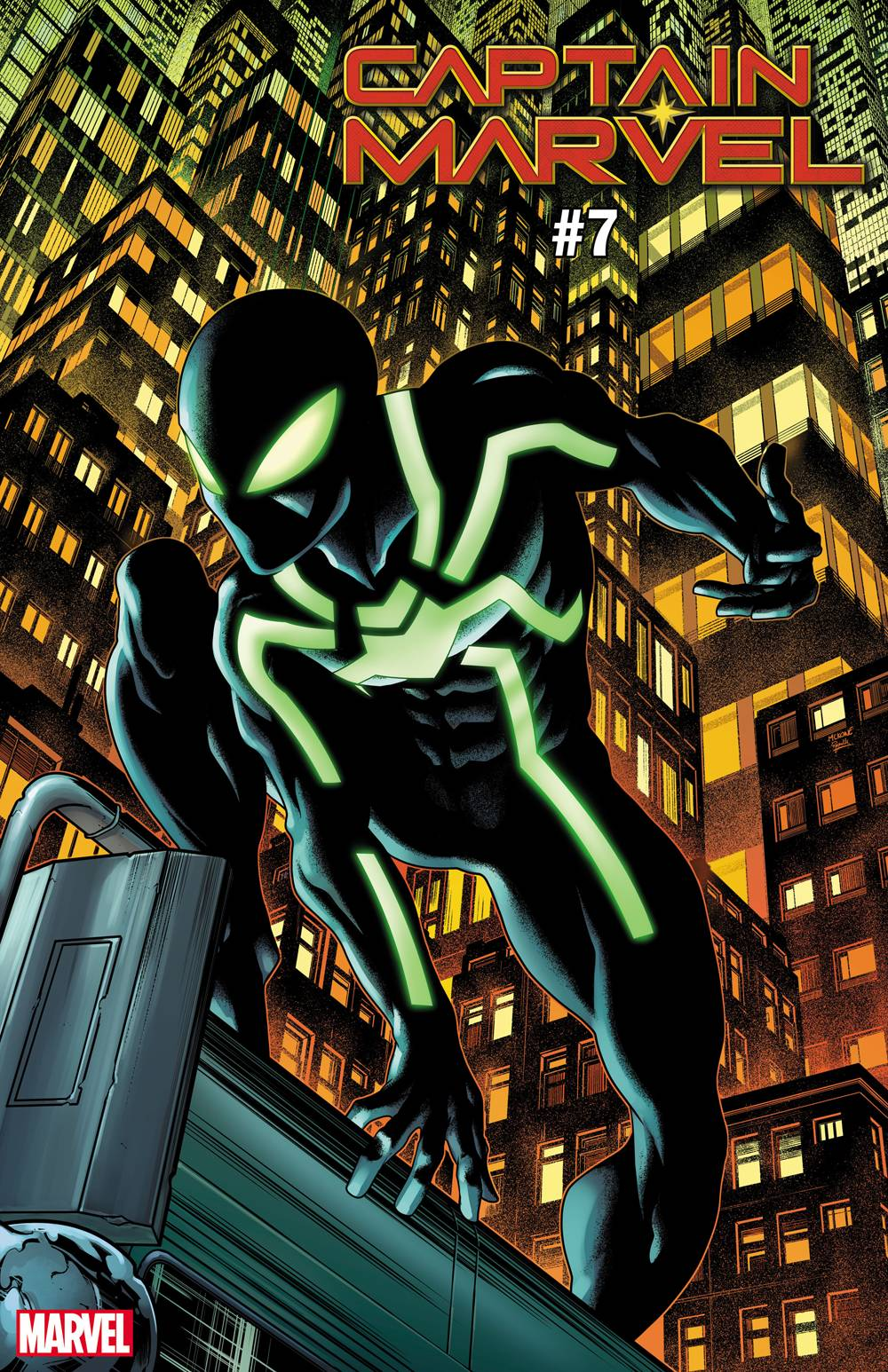 CAPTAIN MARVEL 7 MCKONE SPIDER-MAN SYMBIOTE SUIT VAR.jpg