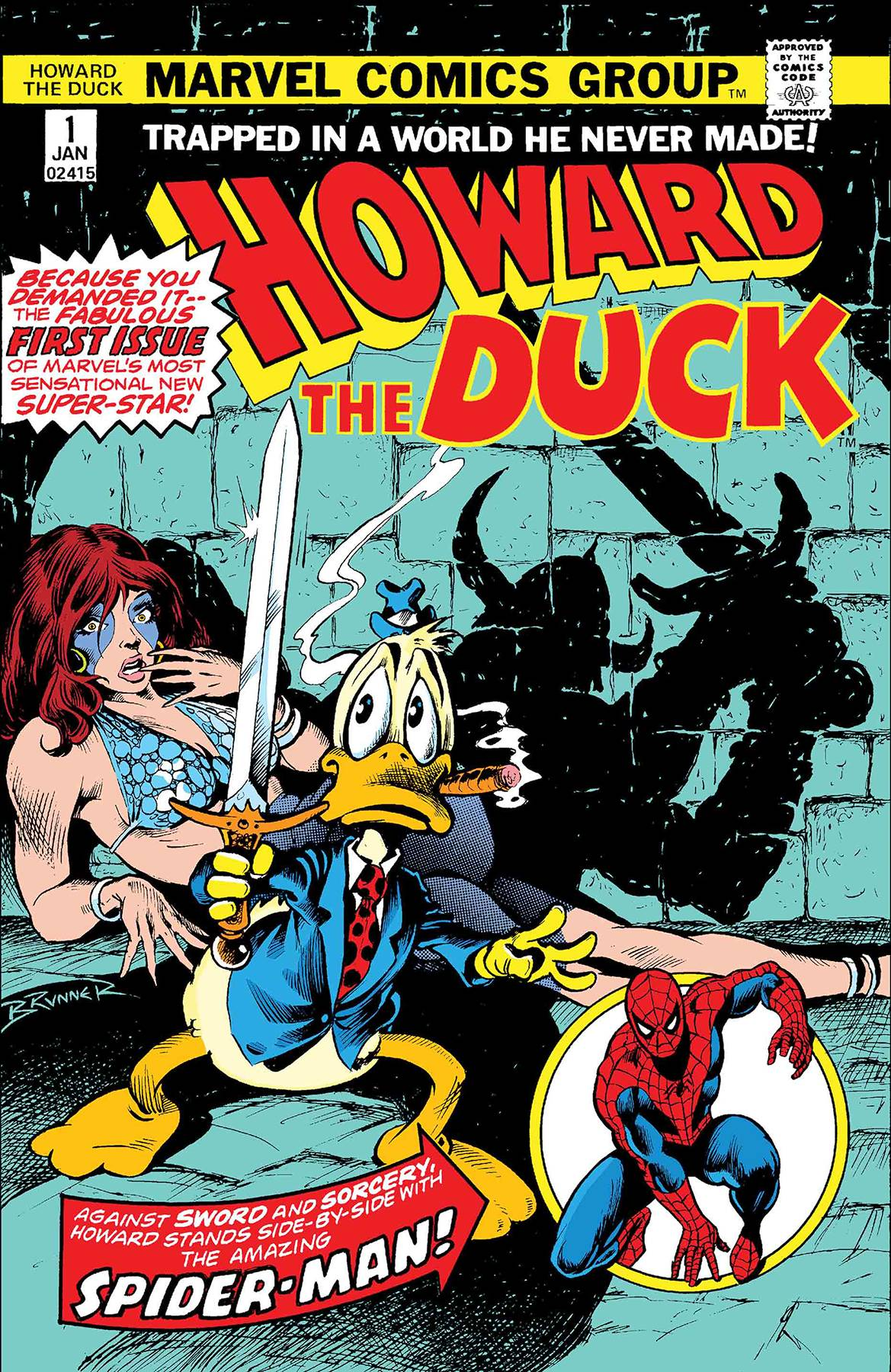 HOWARD THE DUCK 1 FACSIMILE EDITION.jpg