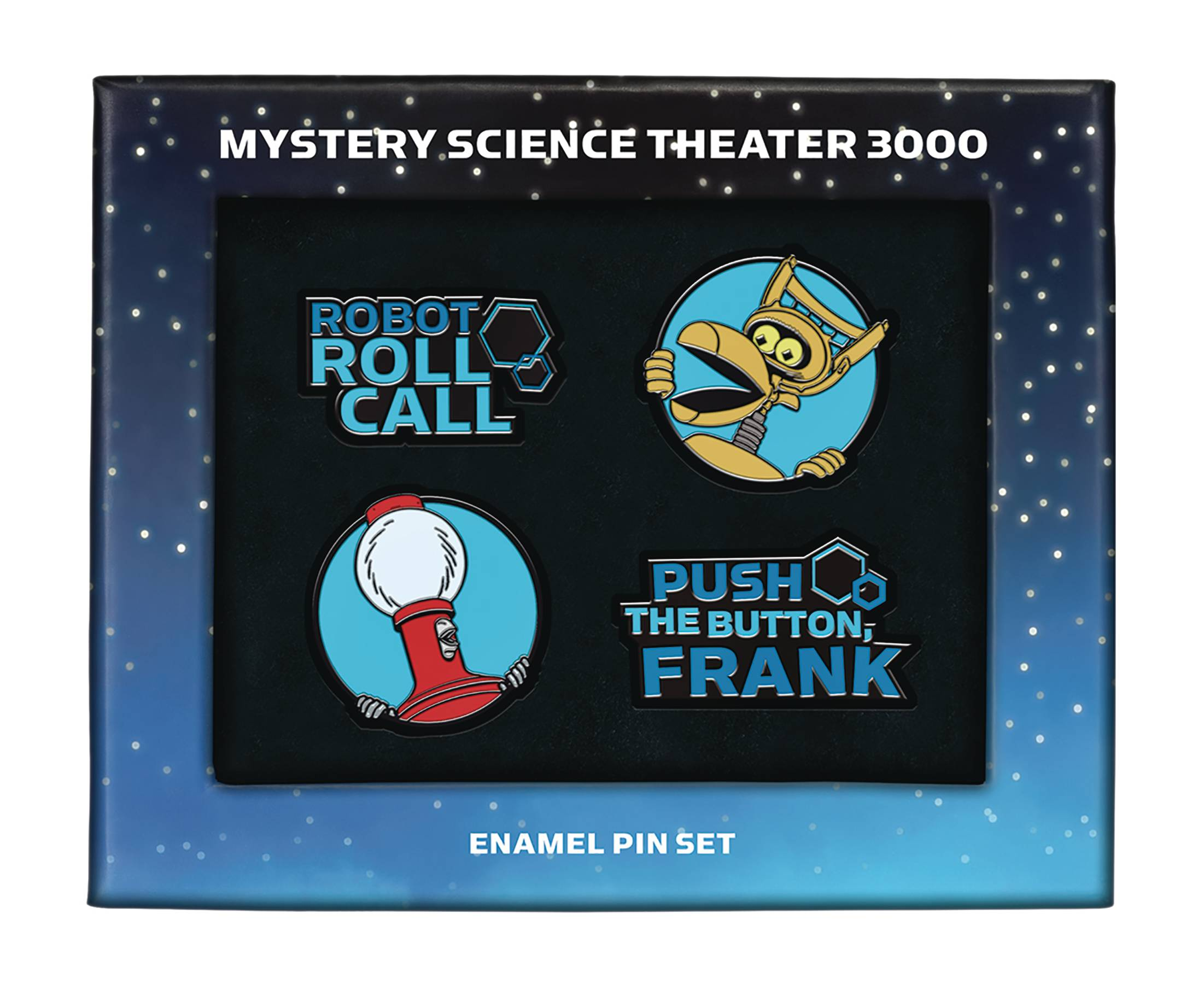 MYSTERY SCIENCE THEATER ENAMEL PIN SET.jpg