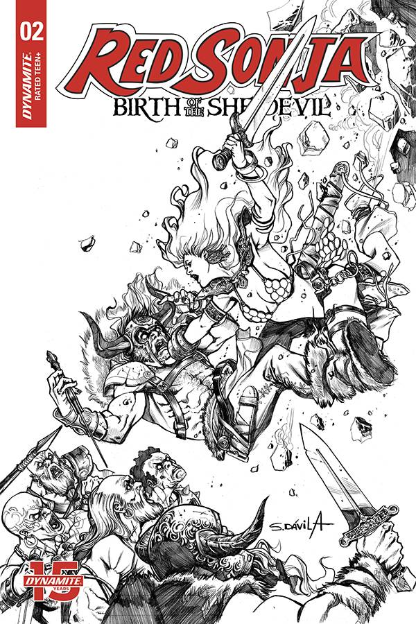 RED SONJA BIRTH OF SHE DEVIL 2 20 COPY DAVILA B&W INCV.jpg