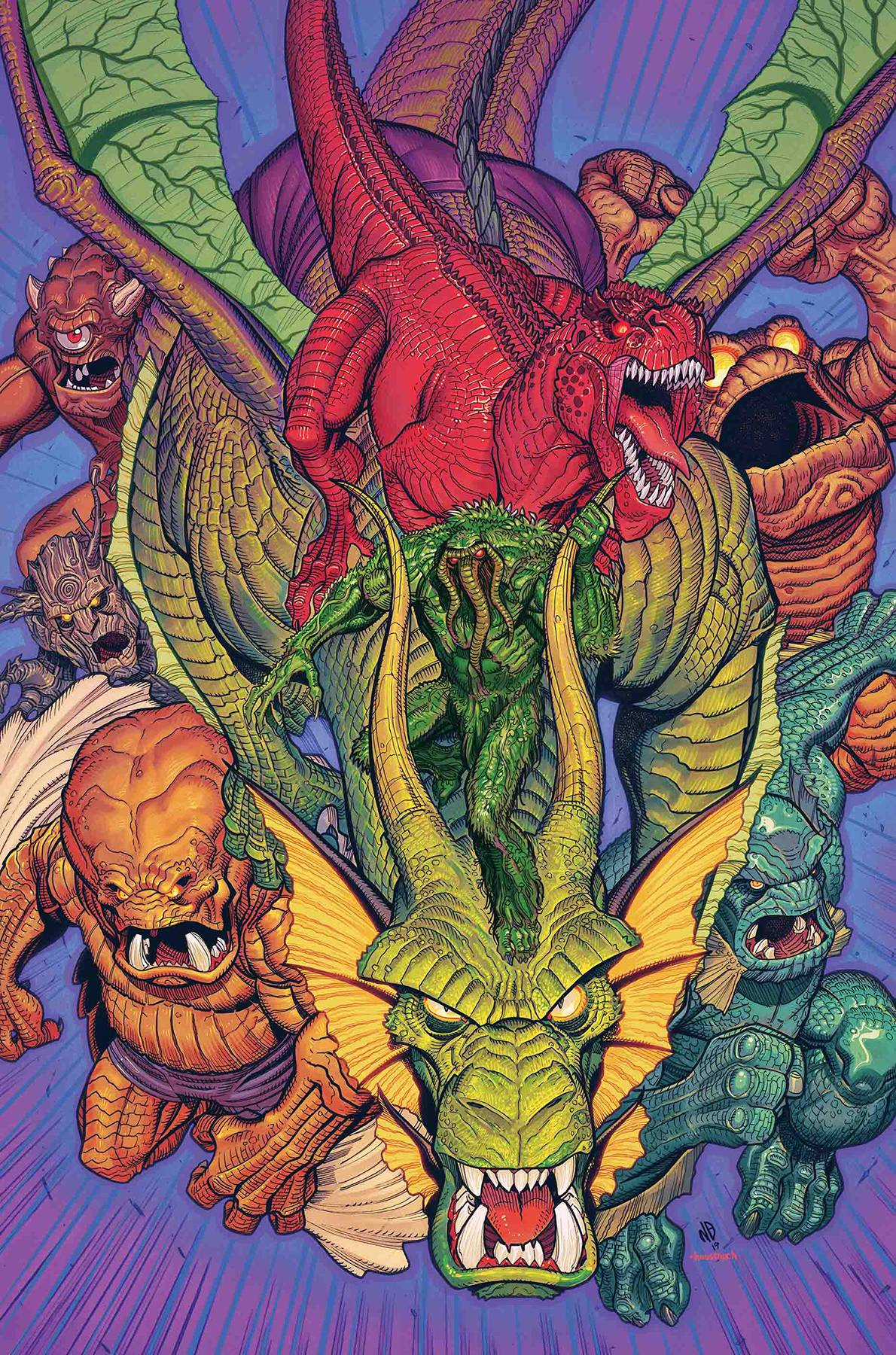 MARVEL MONSTERS BY BRADSHAW POSTER.jpg
